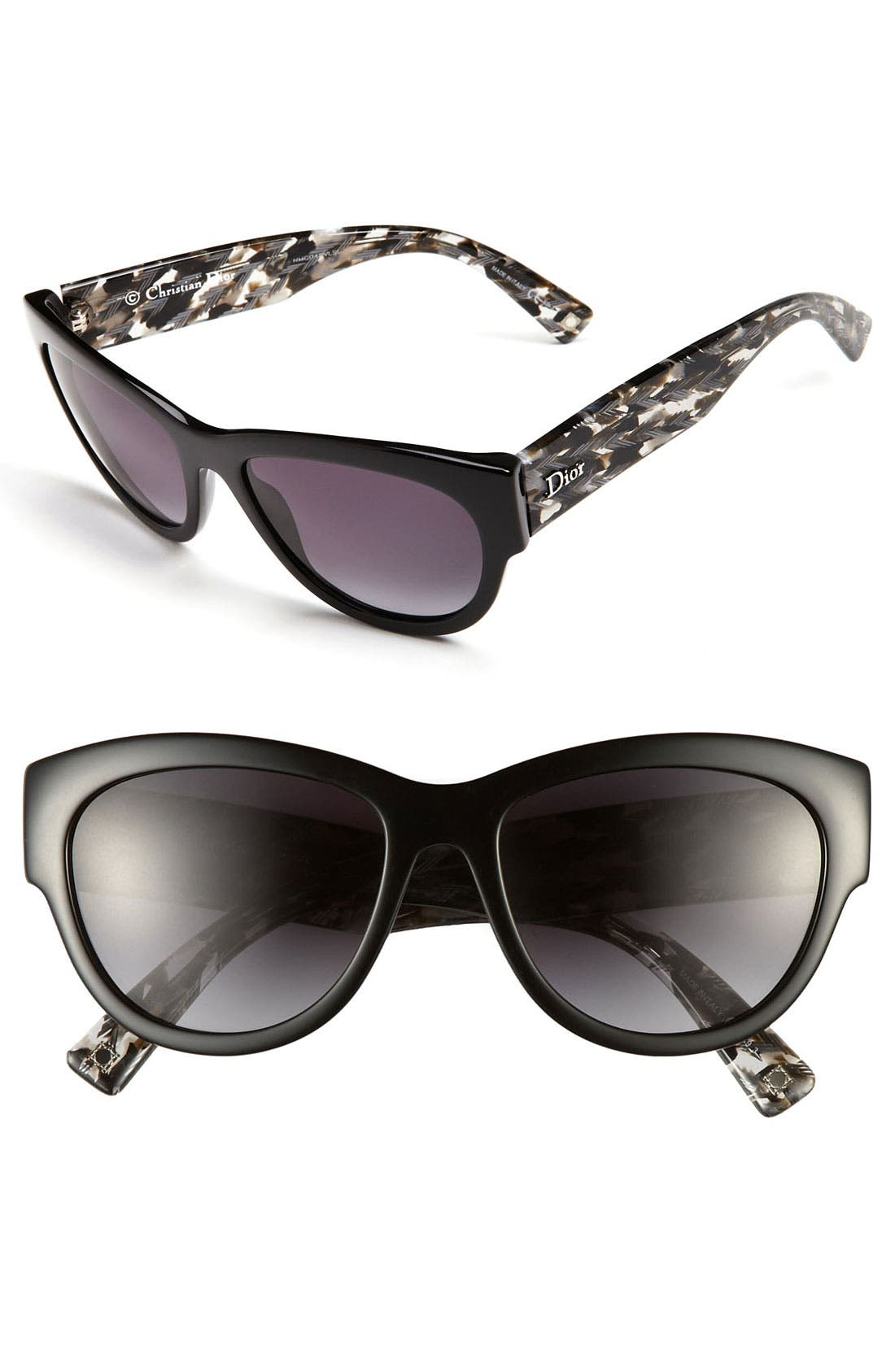 Main Image - Dior 'Flanelle' 56mm Sunglasses
