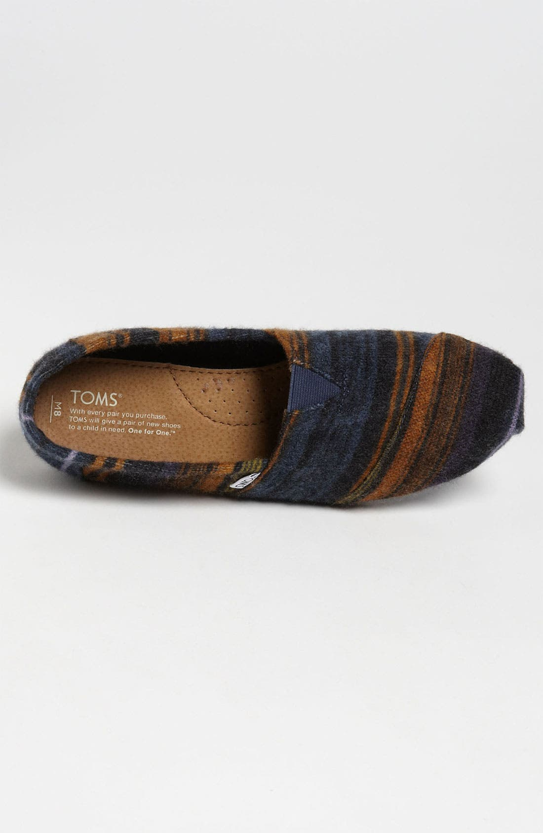 Alternate Image 3  - TOMS 'Classic - Novelty Knit' Slip-On (Men)