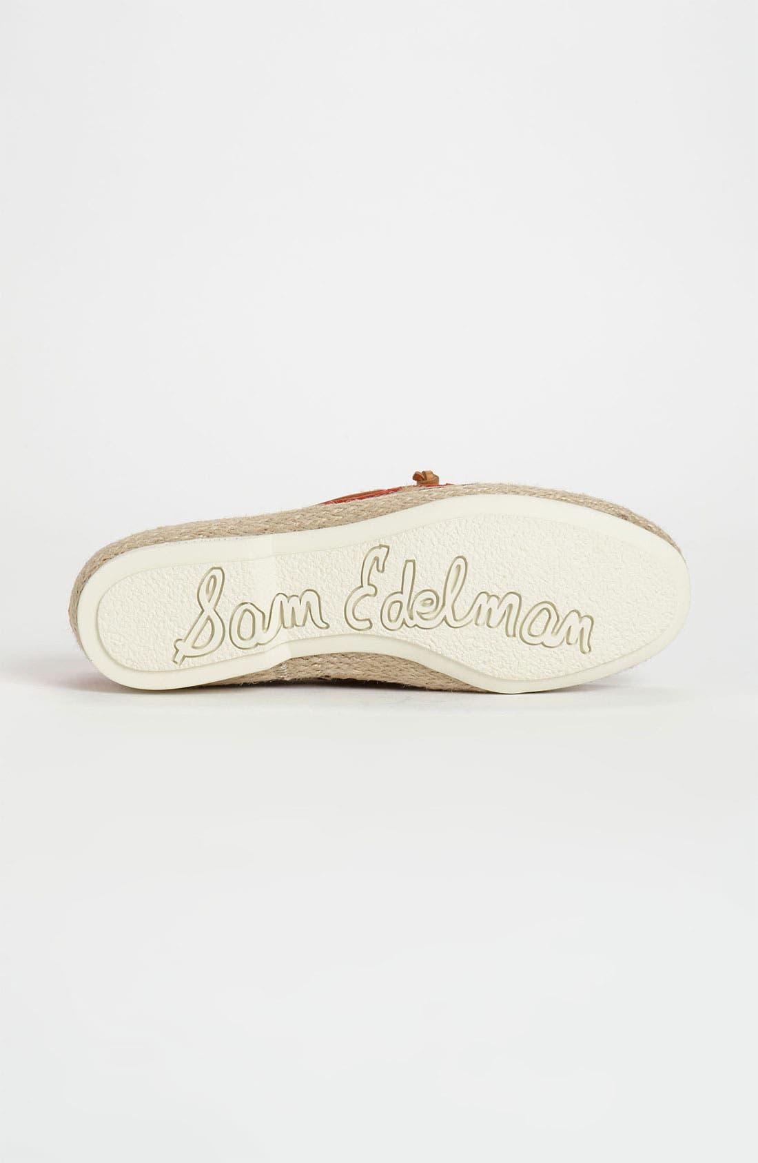 Alternate Image 4  - Sam Edelman 'Sebastian' Boat Shoe