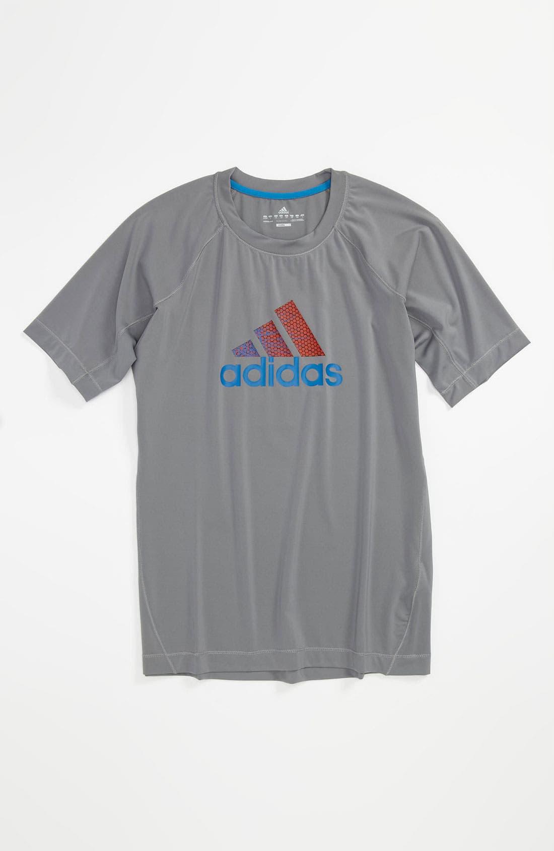 Alternate Image 1 Selected - adidas 'Raw Energy' T-Shirt (Big Boys)