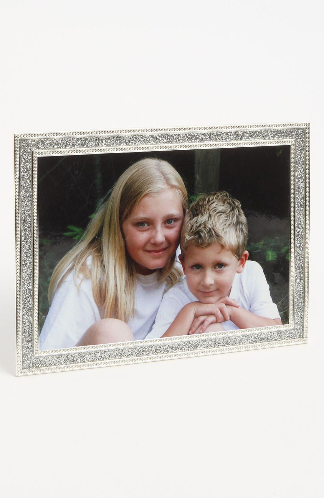 Alternate Image 1 Selected - Glitter & Rhinestone Picture Frame (5x7)