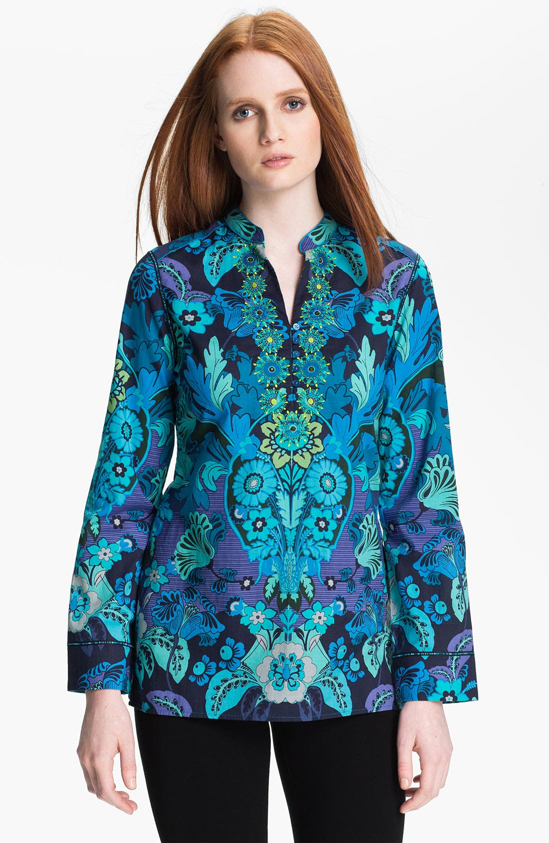 Alternate Image 1 Selected - Robert Graham 'Diane' Shirt (Online Exclusive)