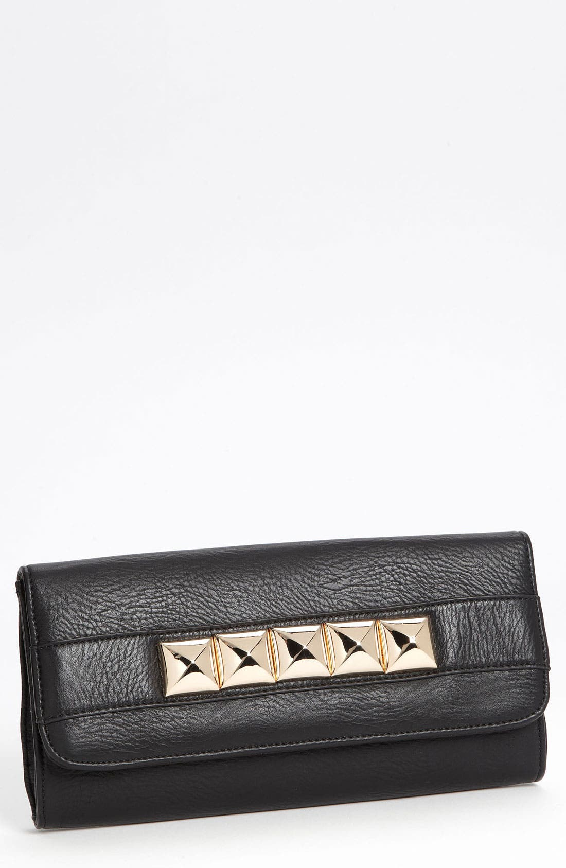 Alternate Image 1 Selected - Street Level Pyramid Stud Convertible Clutch