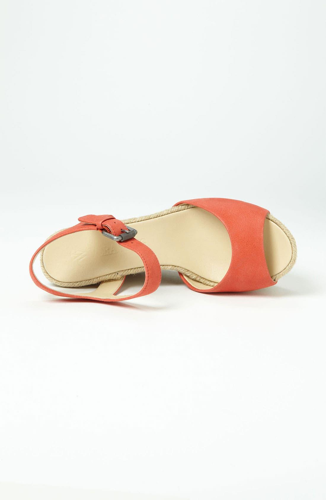 Alternate Image 3  - Vera Wang Footwear Wedge Sandal