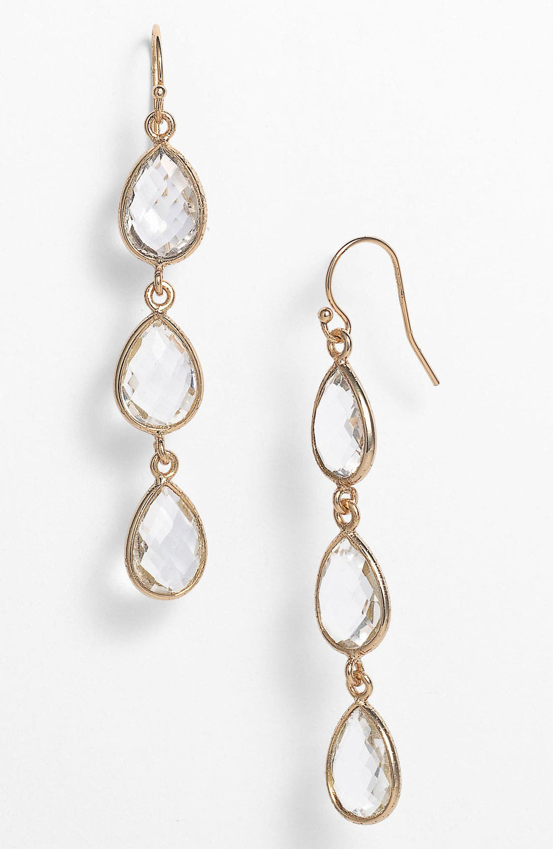 Alternate Image 1 Selected - NuNu Designs Teardrop Earrings