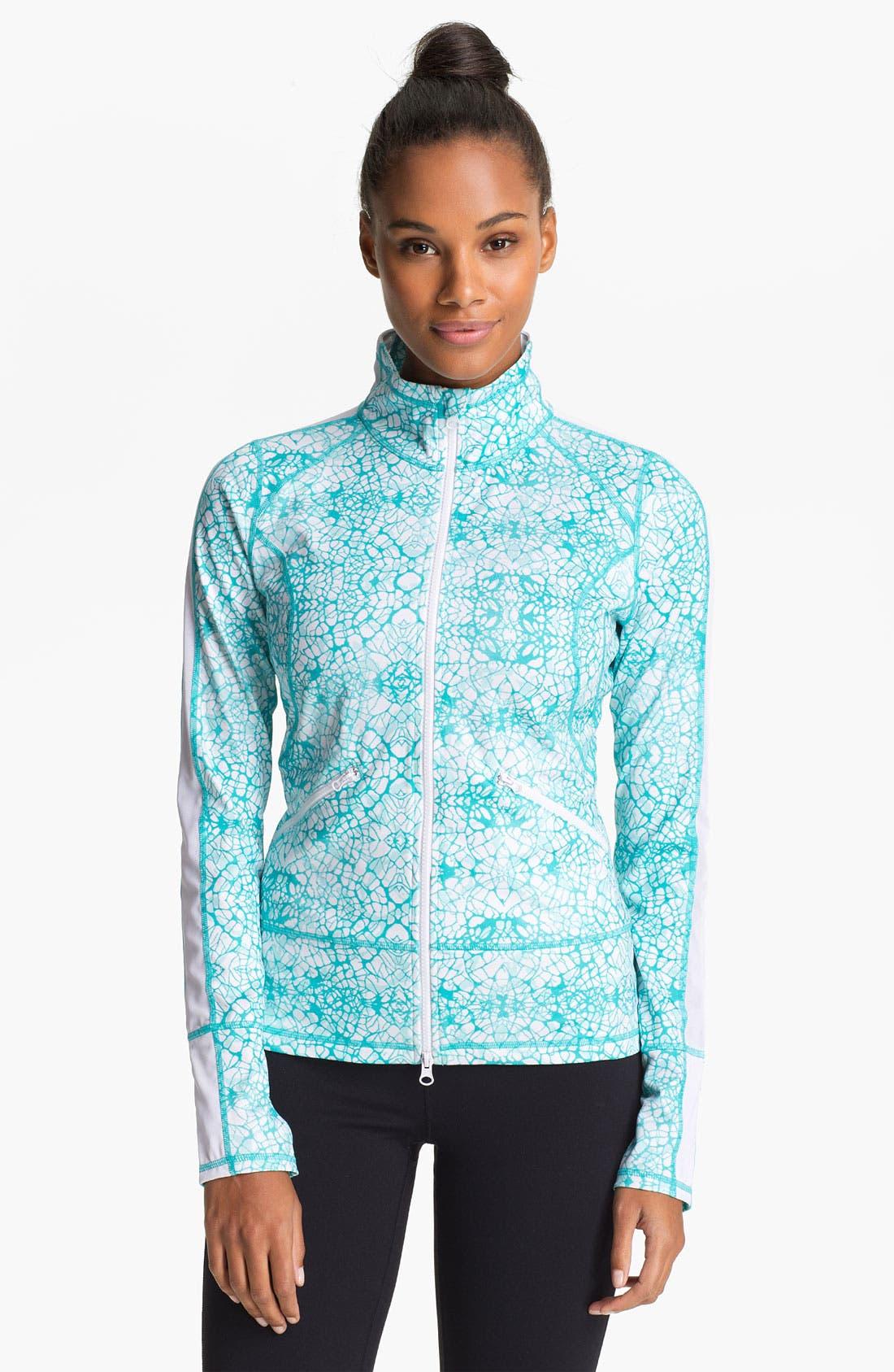 Main Image - Zella 'Streamline' Print Jacket