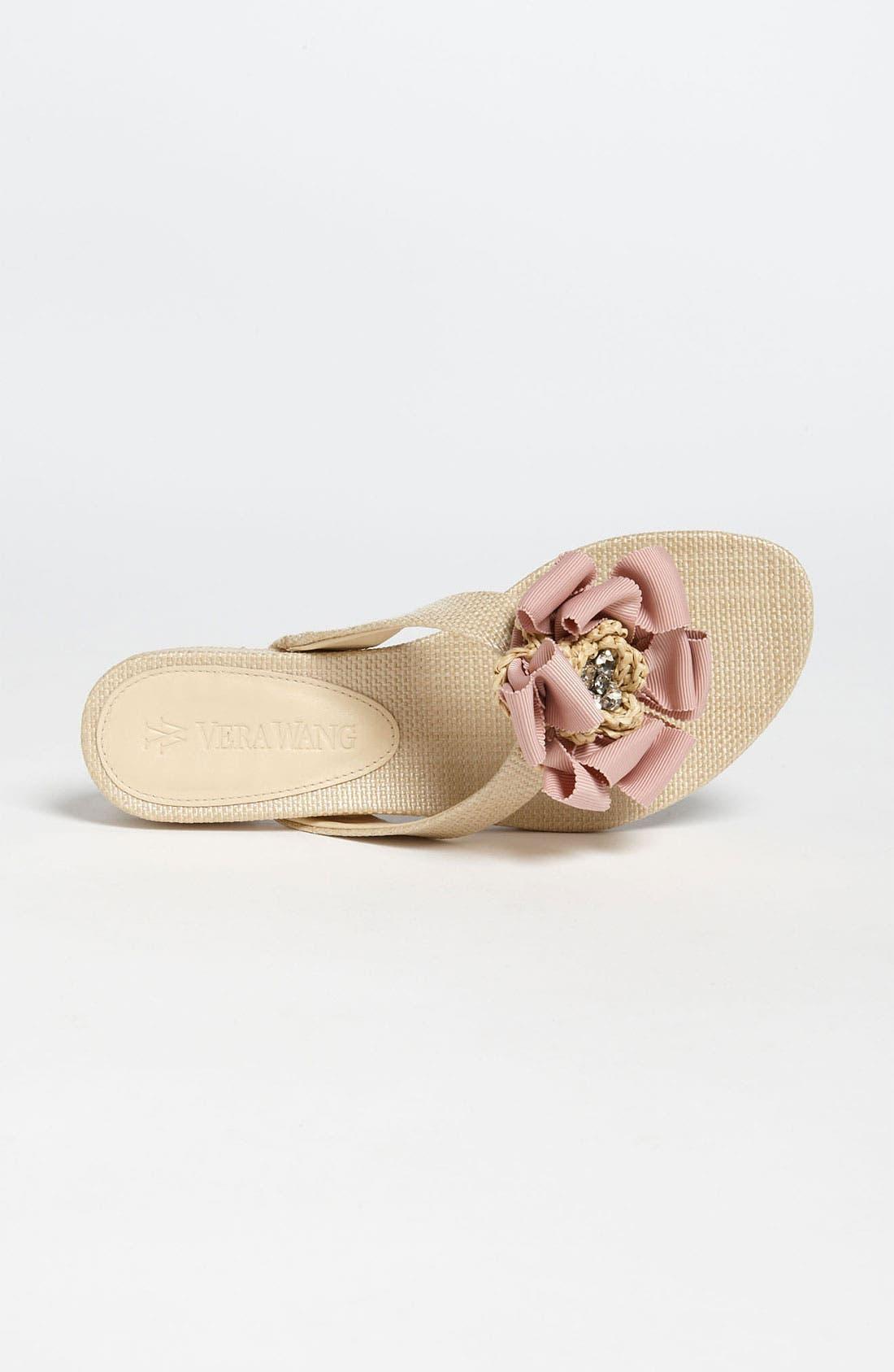 Alternate Image 3  - Vera Wang Footwear 'Blaine' Skimmer