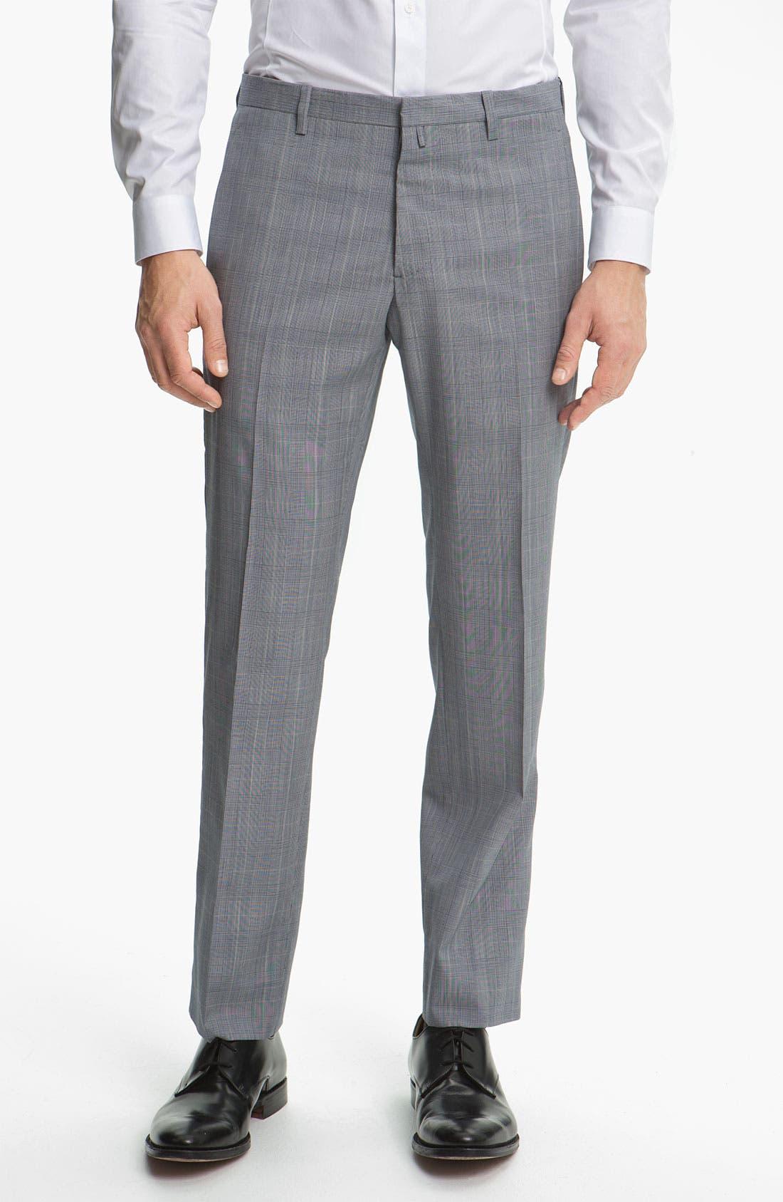 Alternate Image 4  - Jil Sander Glen Plaid Suit