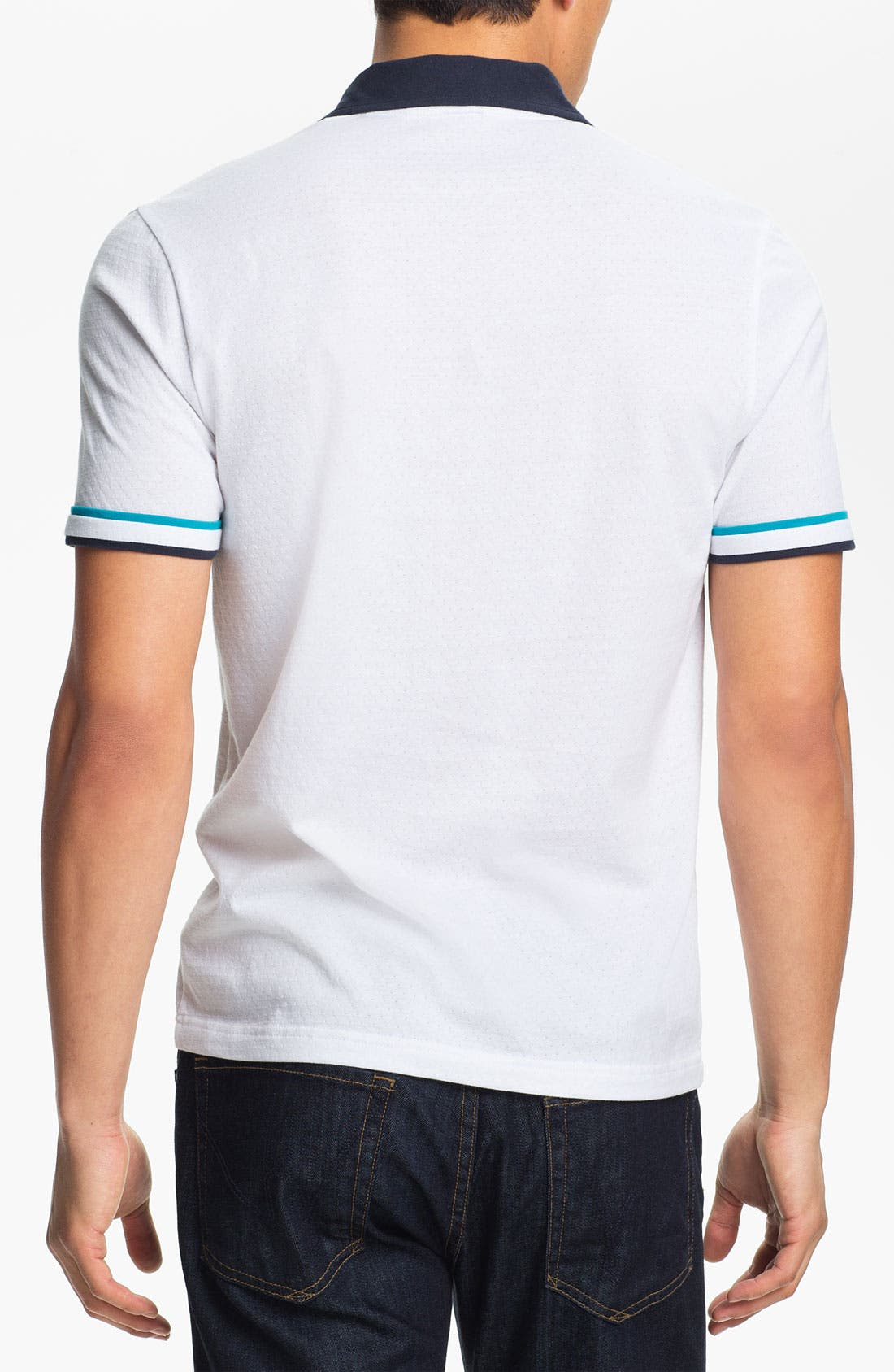 Alternate Image 2  - Original Penguin Perforated Polo