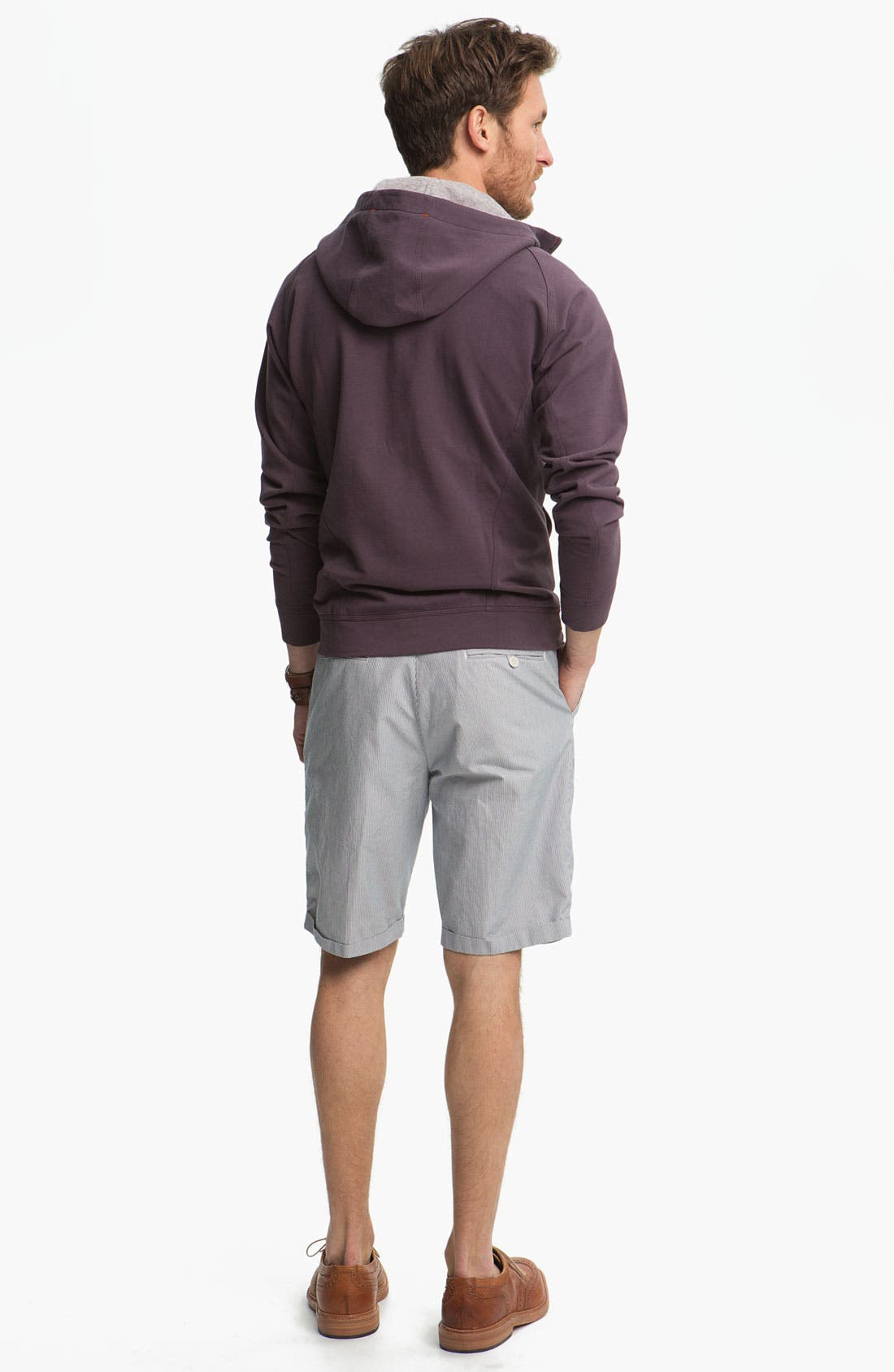 Alternate Image 3  - Fred Perry Flat Front Shorts