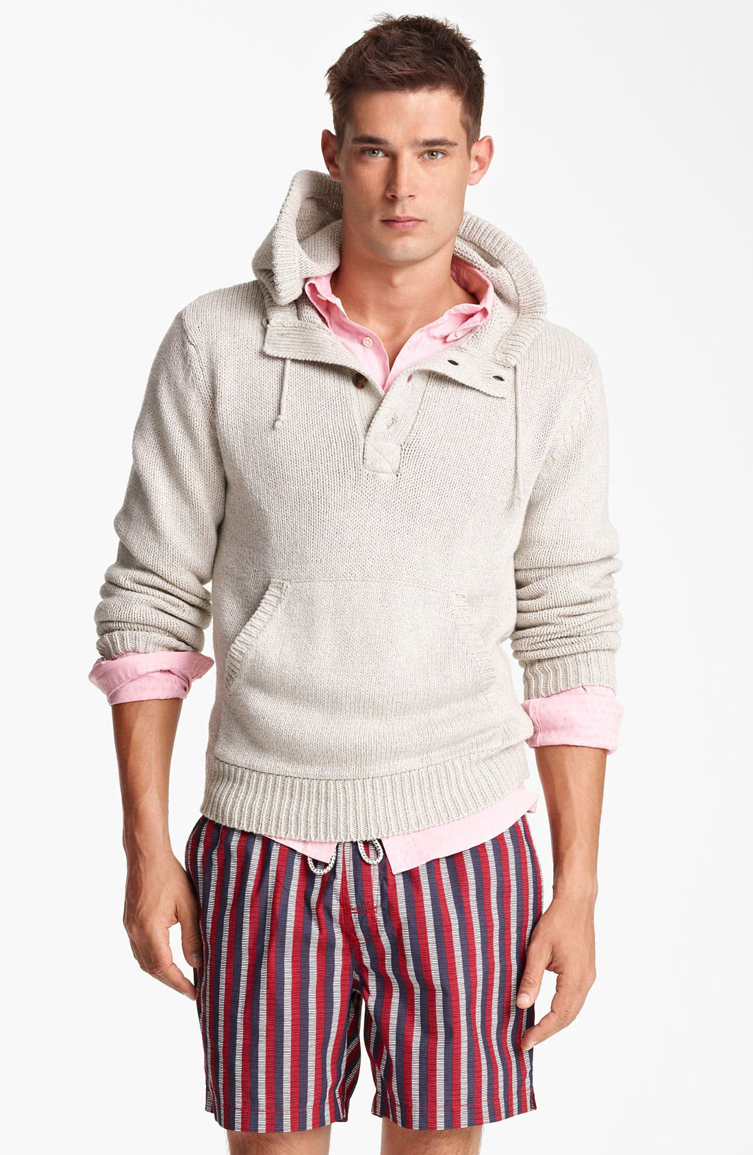 Alternate Image 1 Selected - Jack Spade 'Baker' Hooded Sweater
