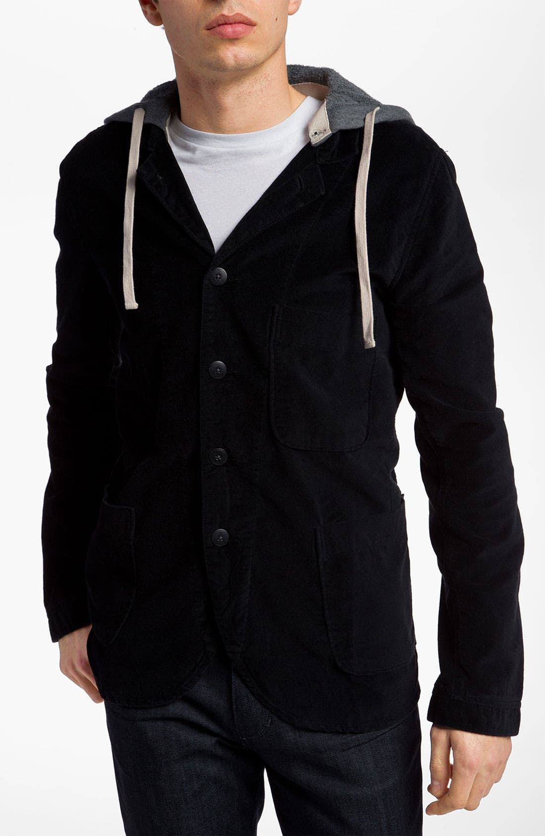 Main Image - Alternative 'Bridgeport' Hooded Blazer Style Jacket