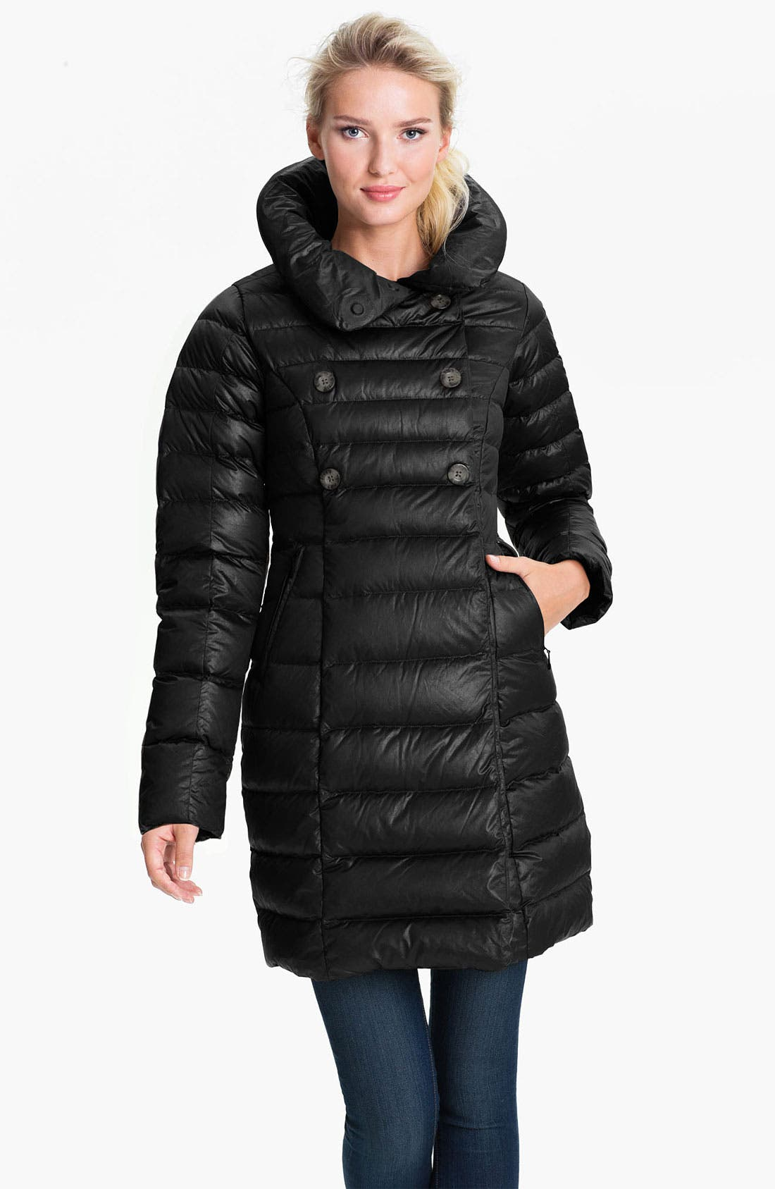 Alternate Image 1 Selected - The North Face 'Paulette' Down Peacoat