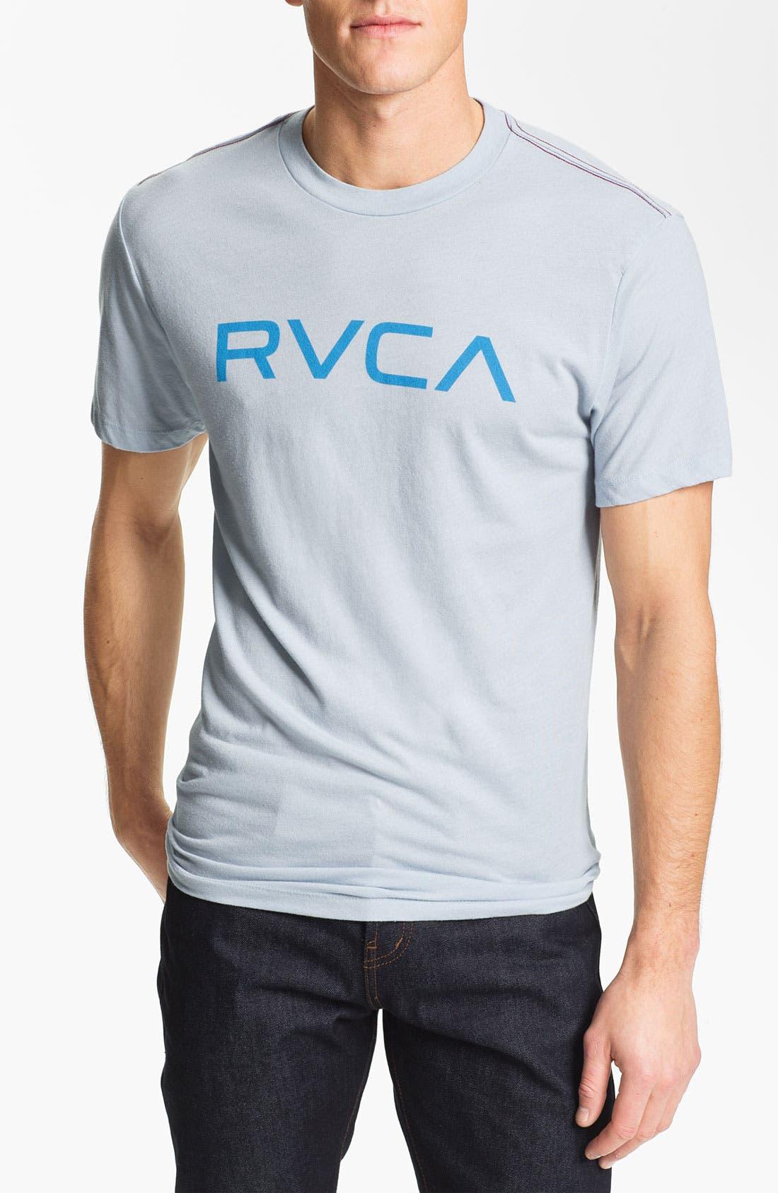 Alternate Image 1 Selected - RVCA 'Big RVCA Logo' T-Shirt
