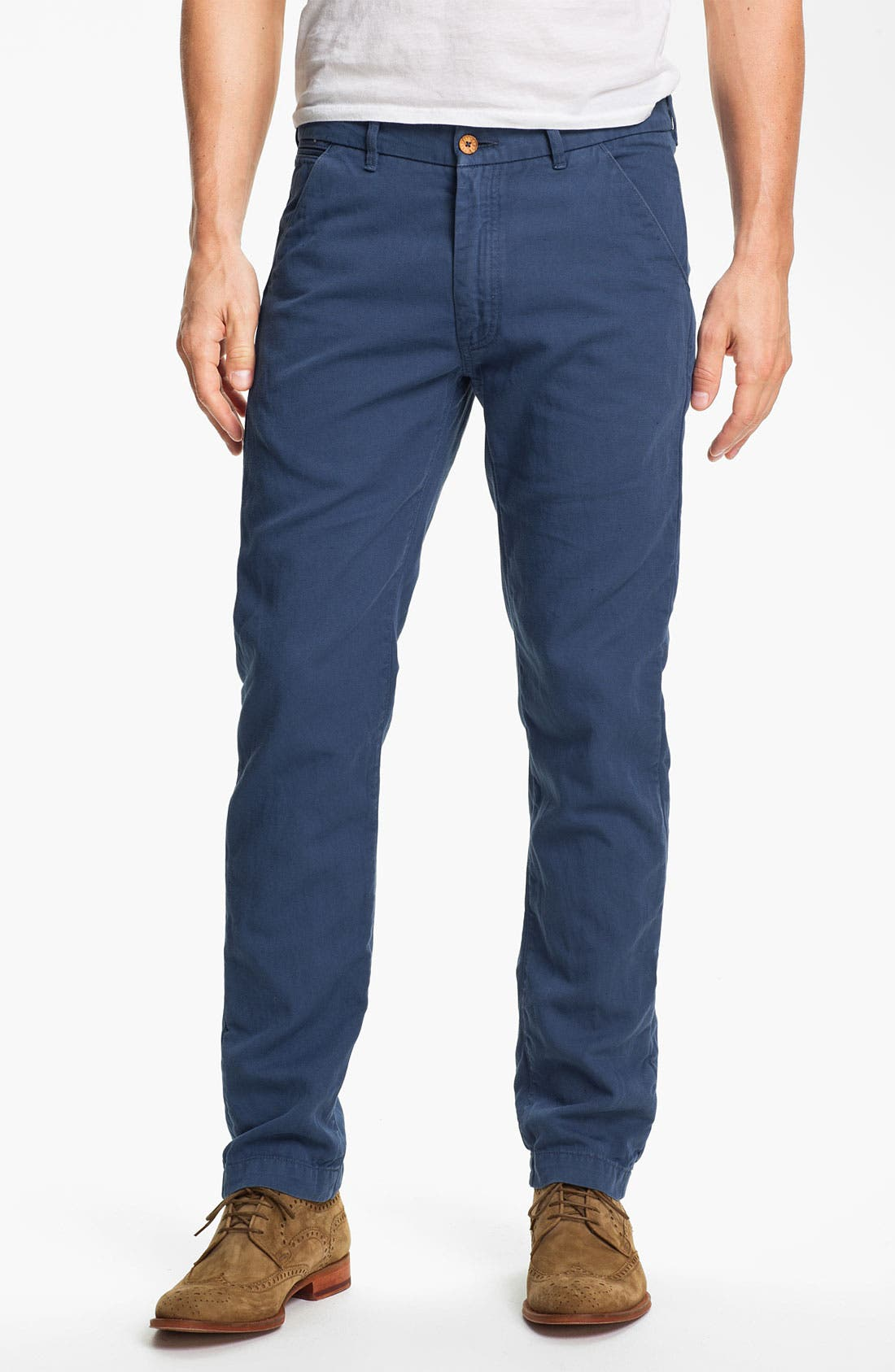 Alternate Image 1 Selected - Levi's® Made & Crafted™ 'Spoke' Cotton & Linen Chinos