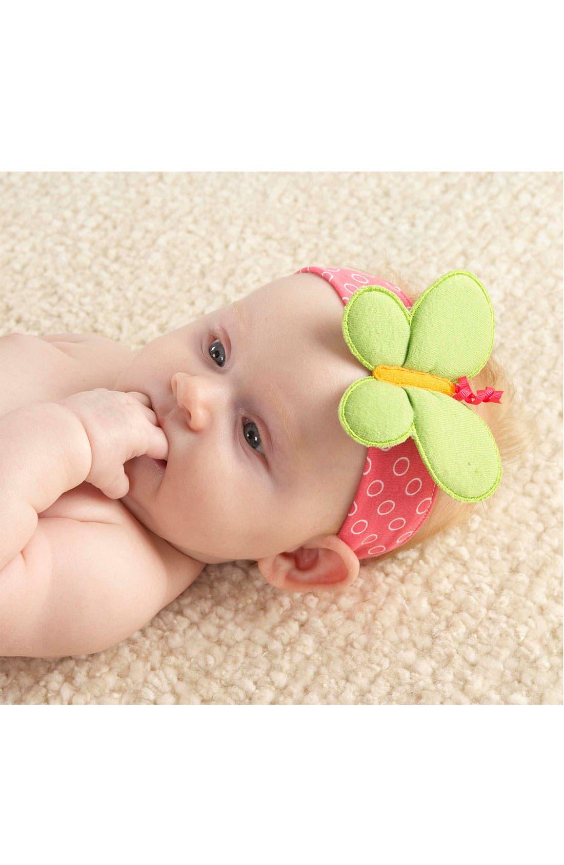 Alternate Image 2  - Baby Aspen 'Butterfly' Headband & Booties (Infant)