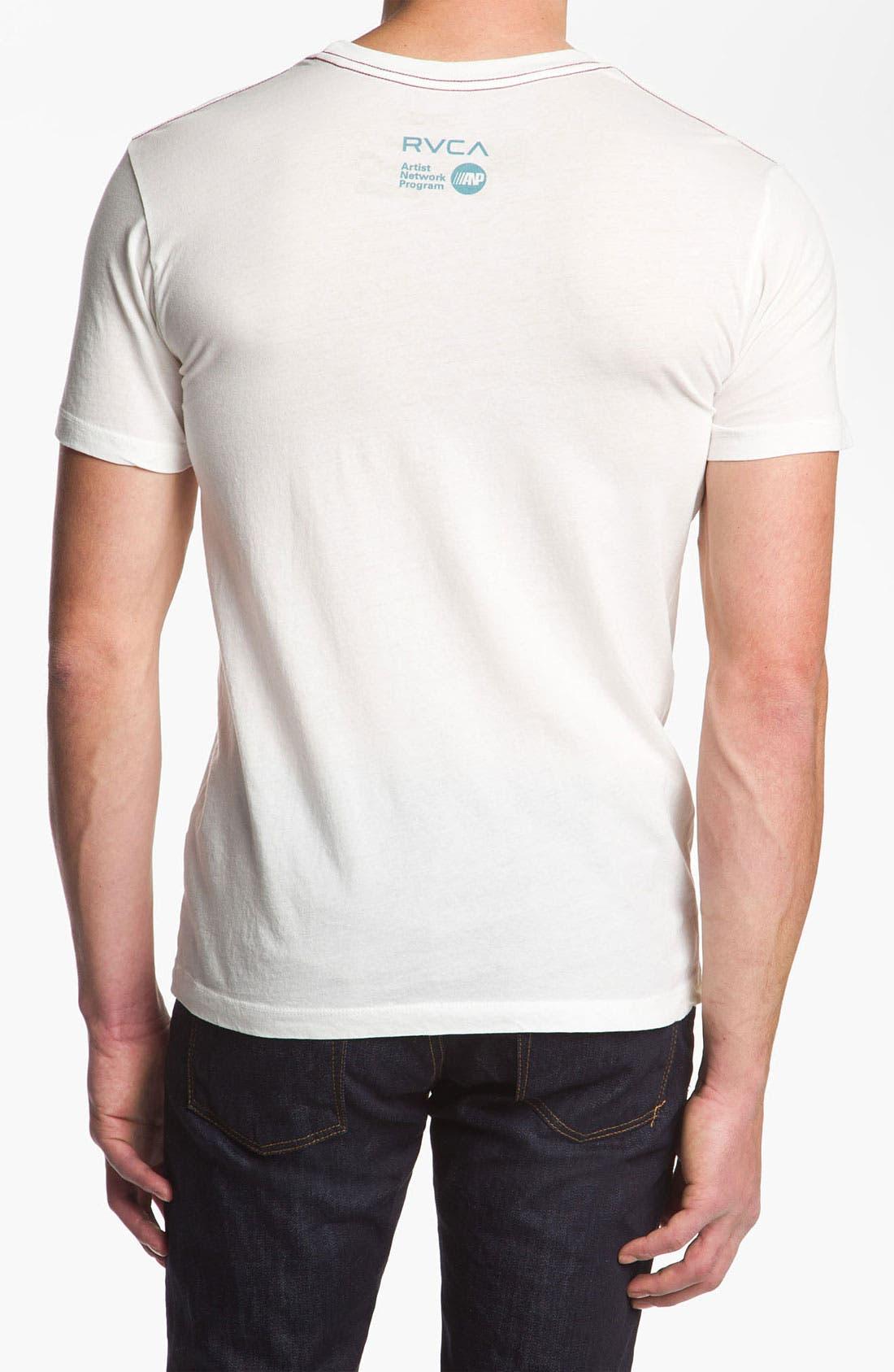 Alternate Image 2  - RVCA 'KB VA' Graphic T-Shirt