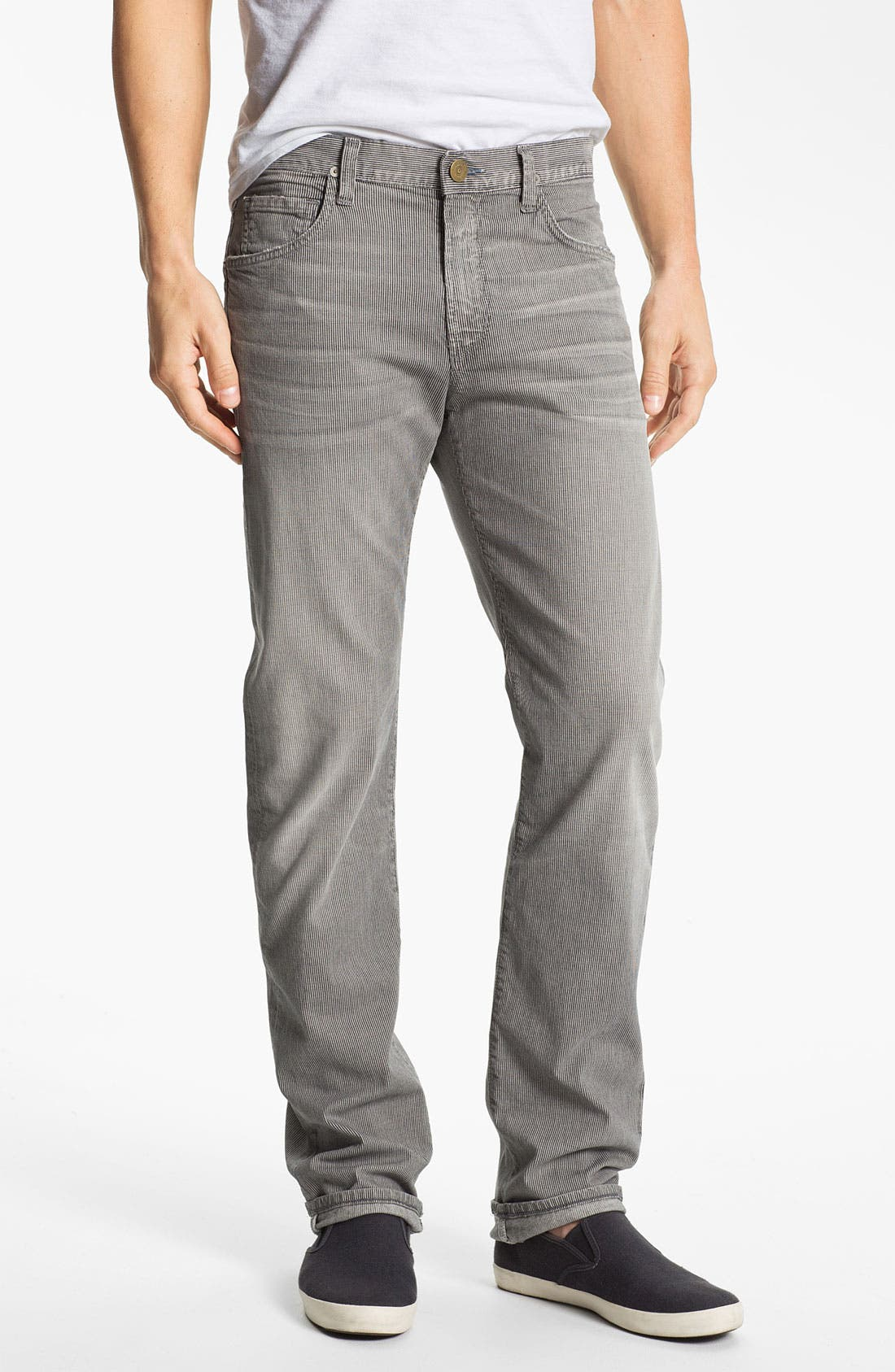 Alternate Image 1 Selected - Citizens of Humanity 'Core' Stripe Slim Fit Jeans (Denzel) (Online Only)