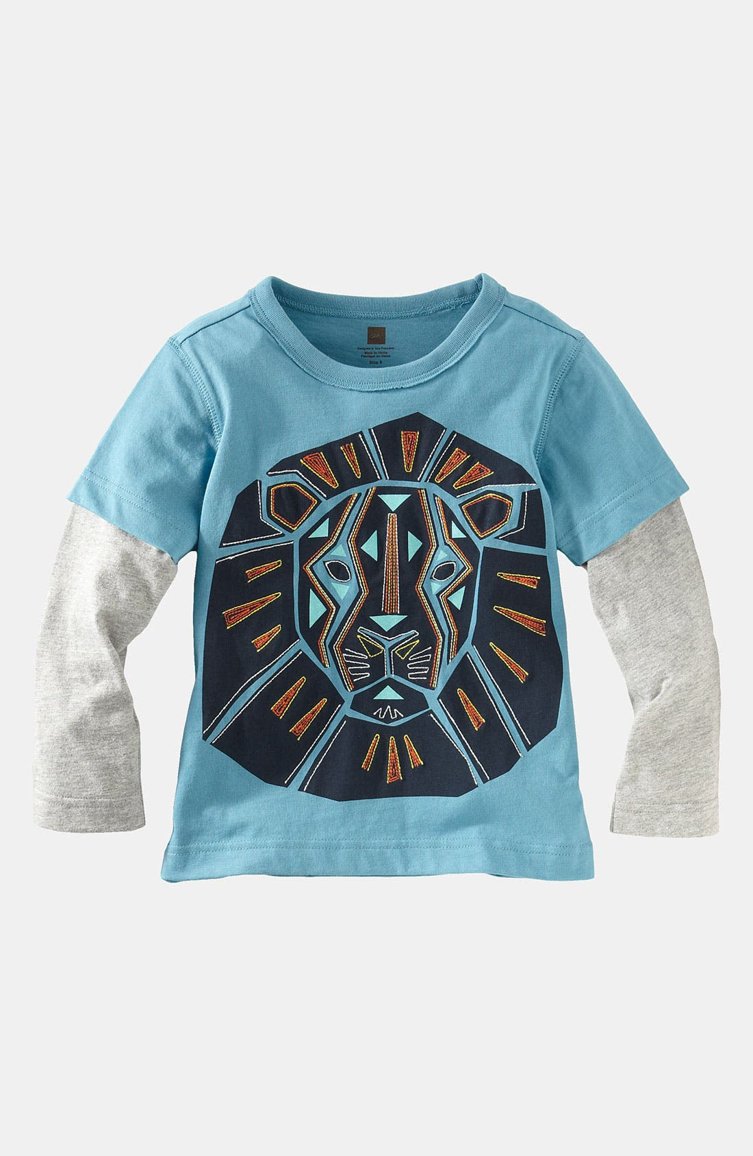 Alternate Image 1 Selected - Tea Collection Layered Sleeve T-Shirt (Toddler)