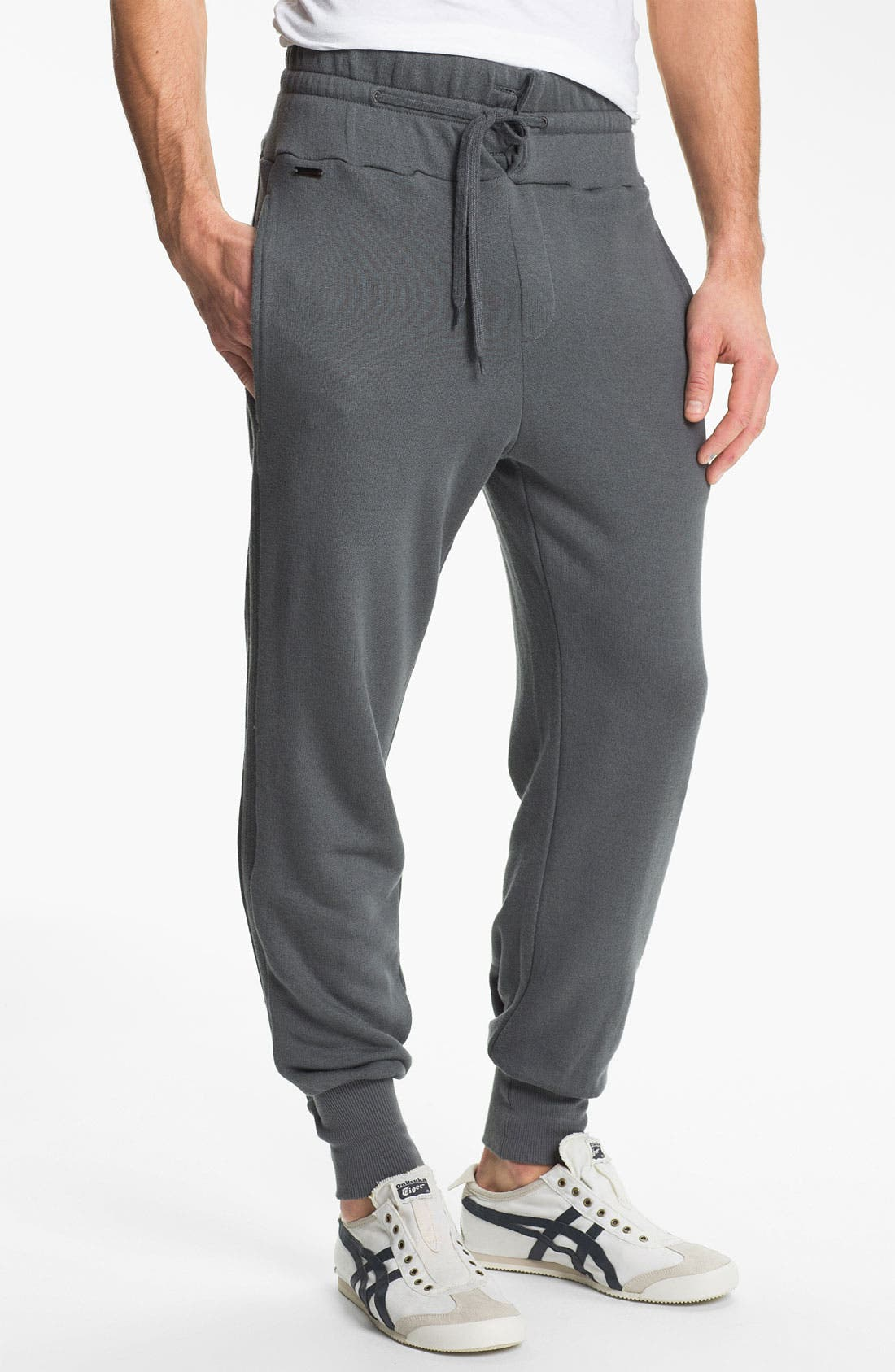 Main Image - adidas SLVR 'Lux' French Terry Pants
