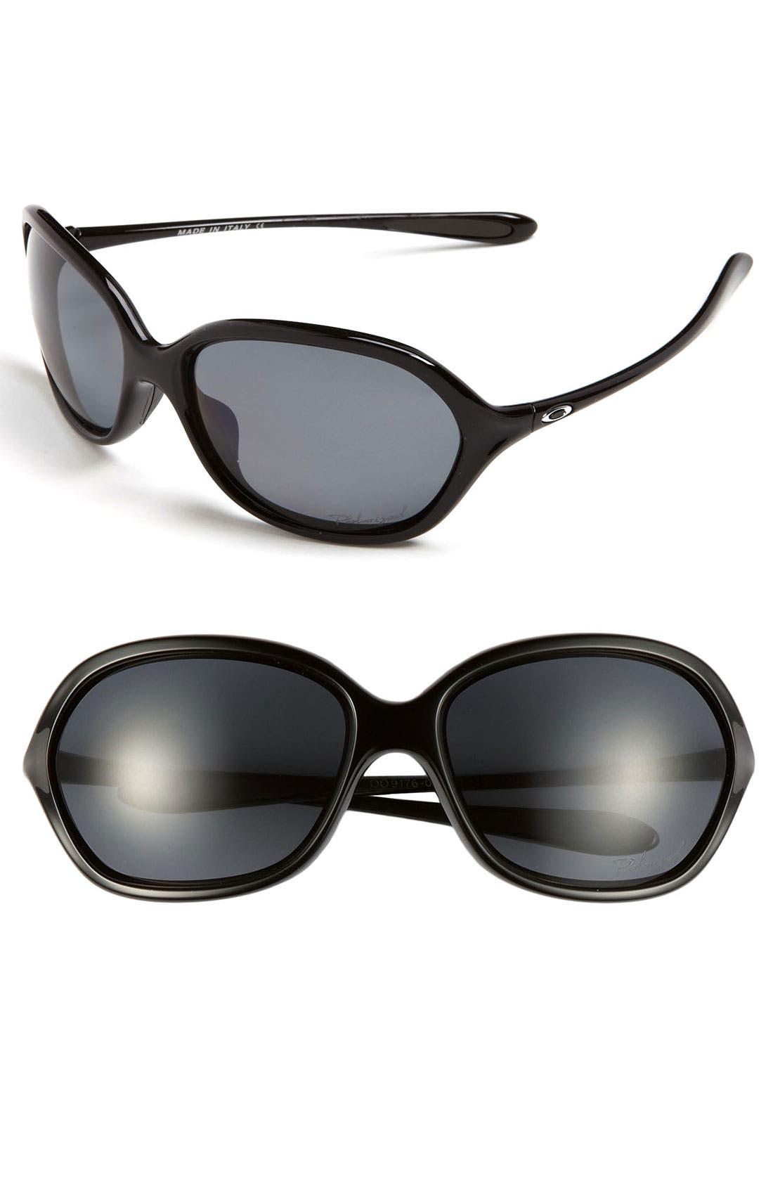 Main Image - Oakley 'Warm Up' 60mm Polarized Sunglasses