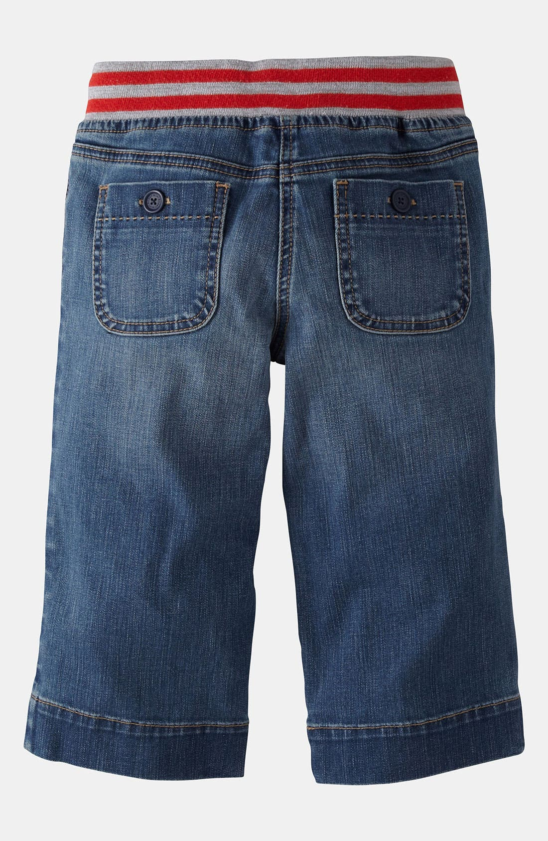 Alternate Image 2  - Mini Boden 'Sailor' Capri Pants (Little Girls & Big Girls)