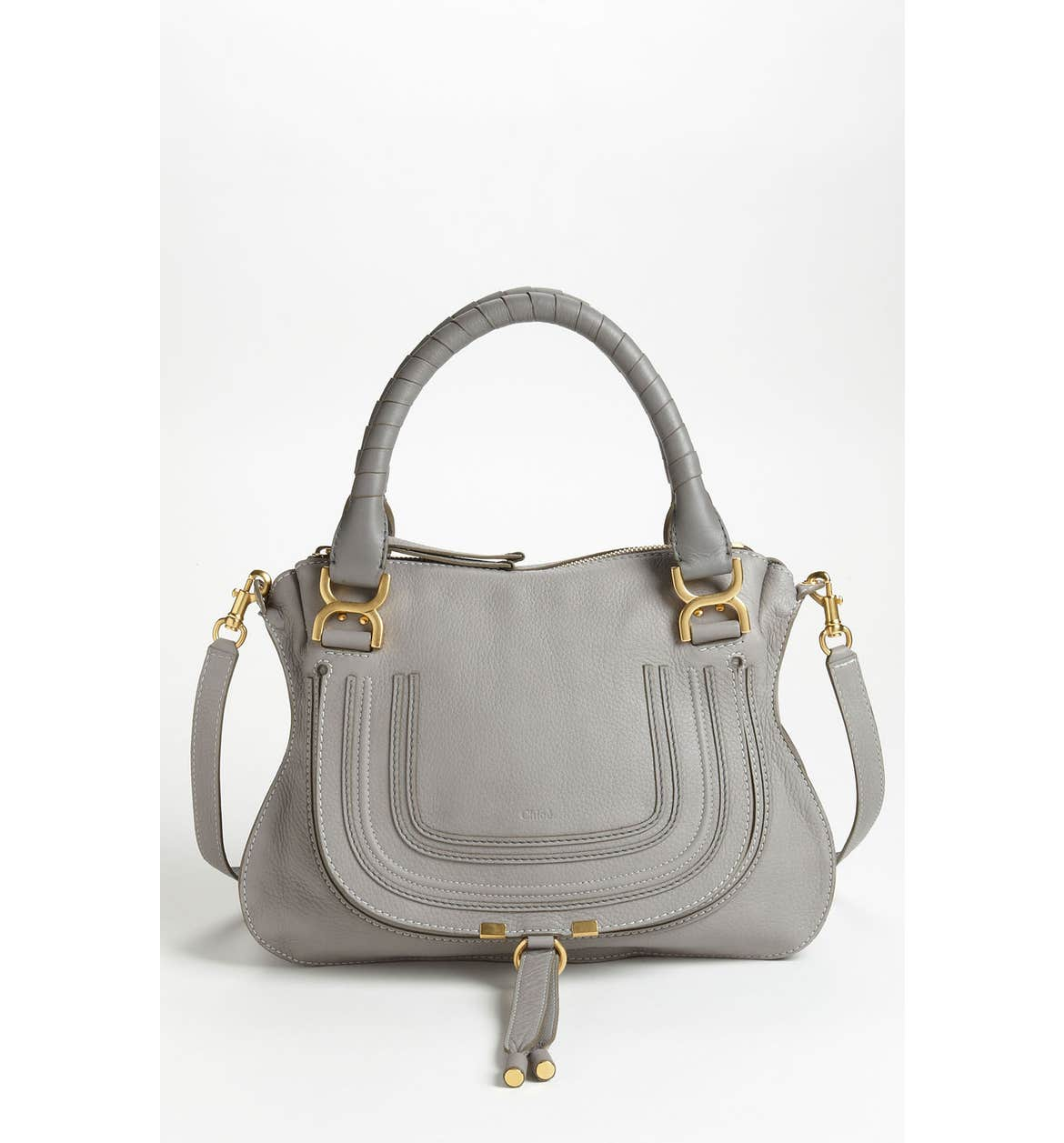 Large grey satchel