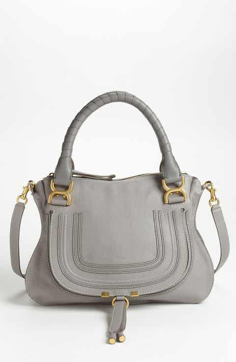 Grey Leather (Genuine) Handbags & Purses | Nordstrom