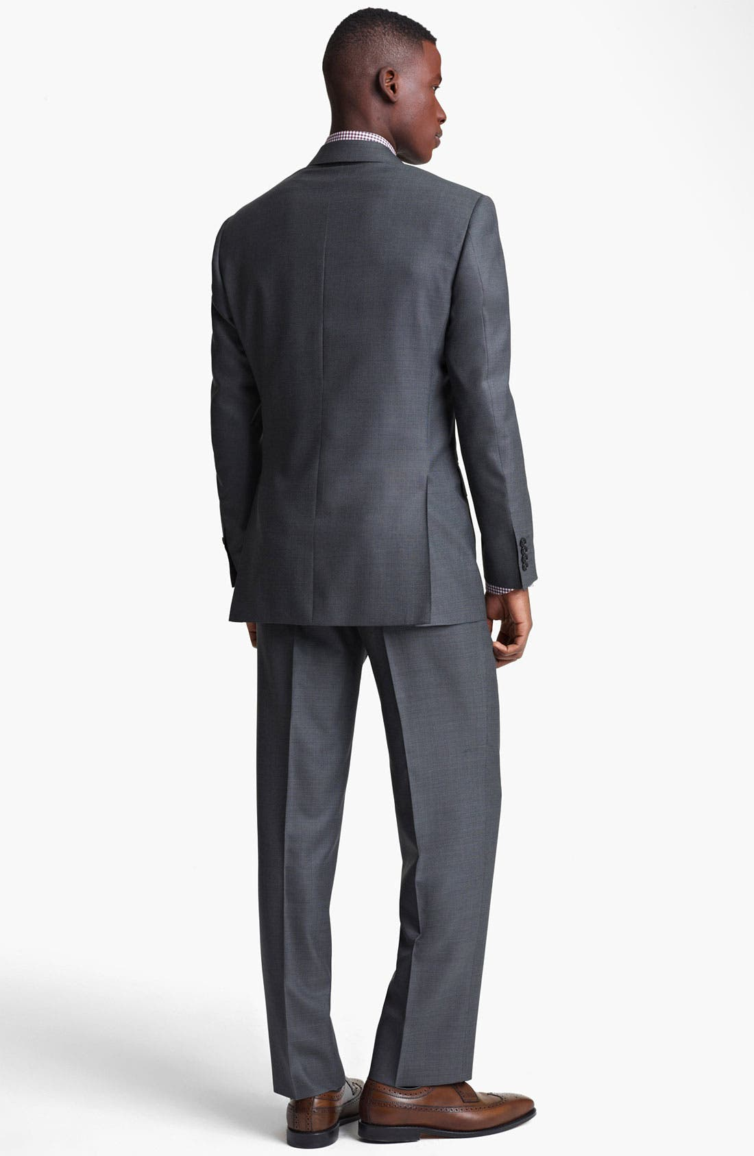Alternate Image 3  - Canali Wool Blend Suit