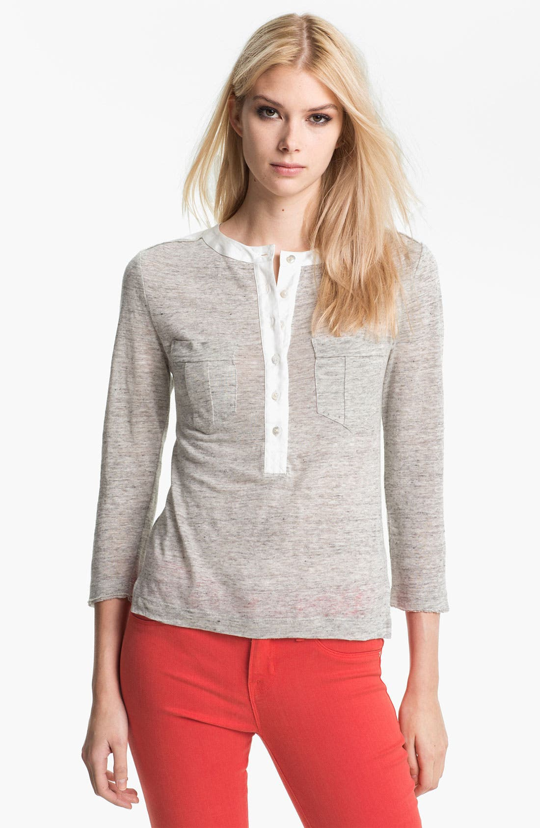 Alternate Image 1 Selected - MARC BY MARC JACOBS Linen Top
