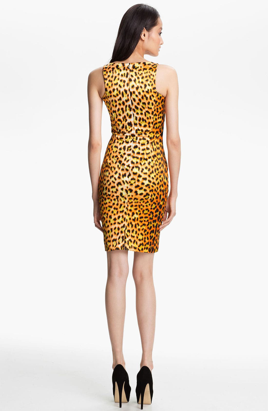 Alternate Image 2  - Just Cavalli Leopard Print Tank Dress