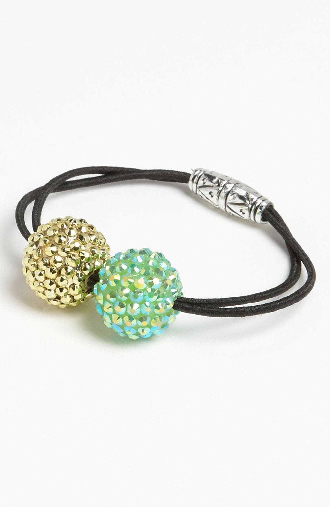Main Image - Cara Double Sparkle Ponytail Holder