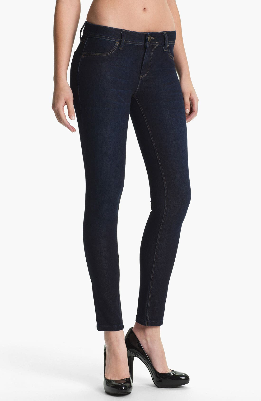 Main Image - DL1961 'Emma' X-Fit Stretch Denim Skinny Jeans (Skye)