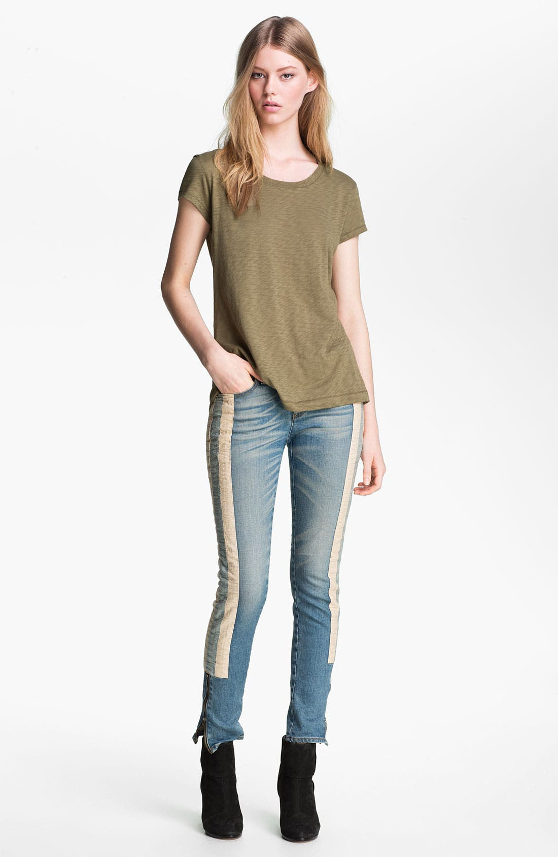 Alternate Image 5  - rag & bone/JEAN 'The Skinny Racer' Jeans
