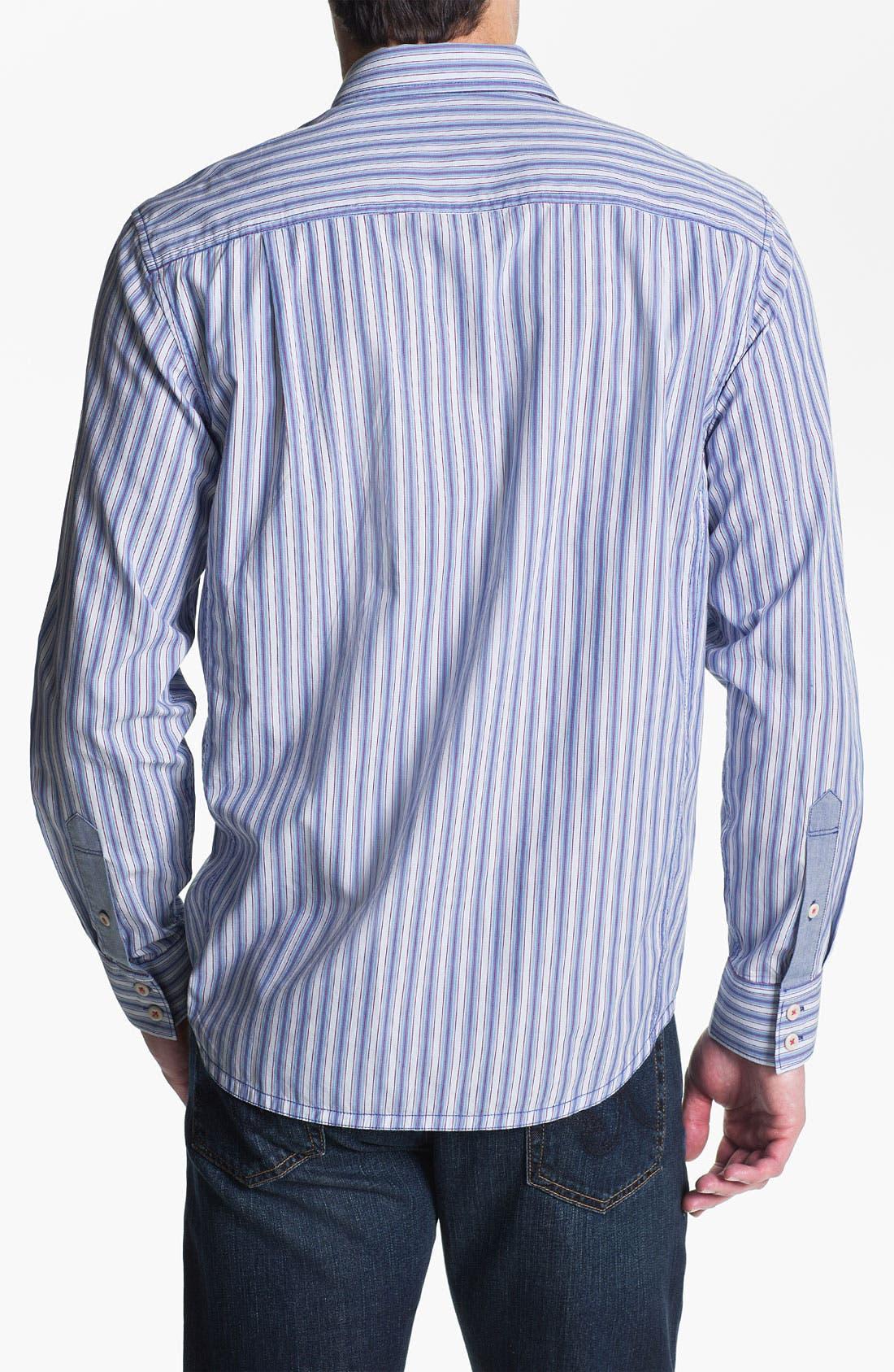 Alternate Image 2  - Tommy Bahama Denim 'Stripe Tease' Sport Shirt