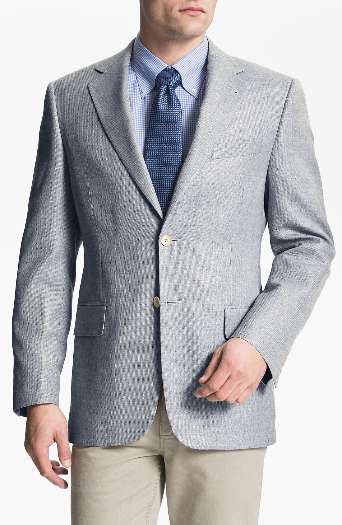 Alternate Image 1 Selected - Joseph Abboud Silk Blend Sportcoat
