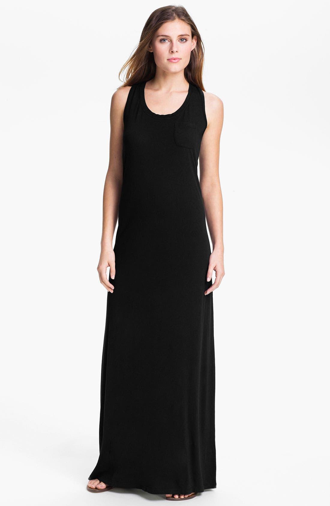 Alternate Image 1 Selected - Allen Allen Maxi Dress