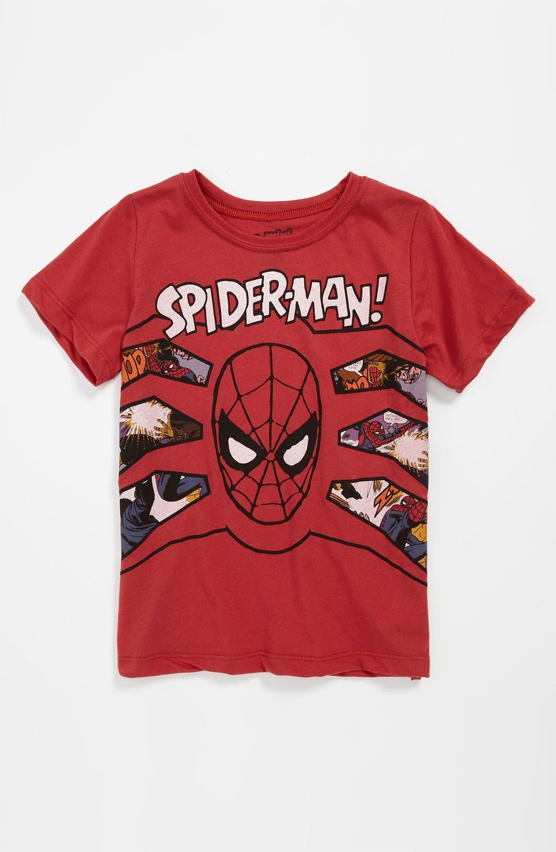 Main Image - Mighty Fine 'Spider-Man®' T-Shirt (Little Boys)