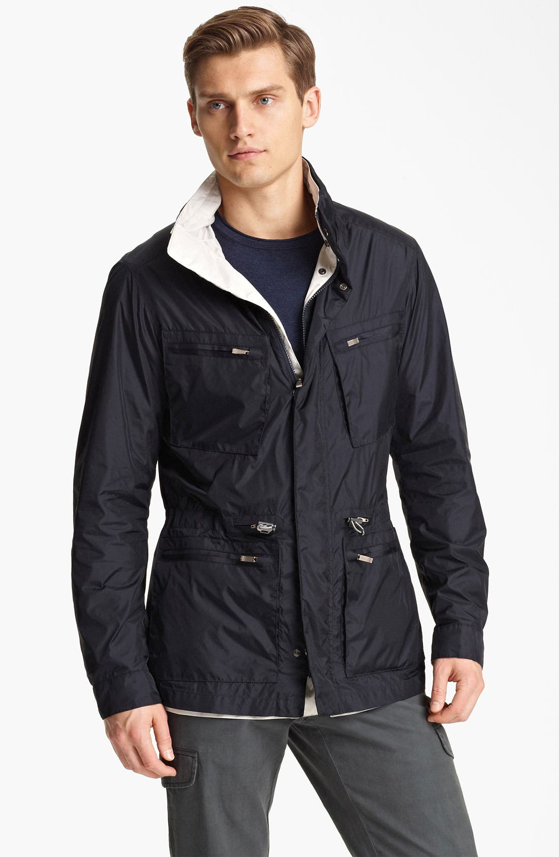 Alternate Image 1 Selected - Zegna Sport Reversible Jacket