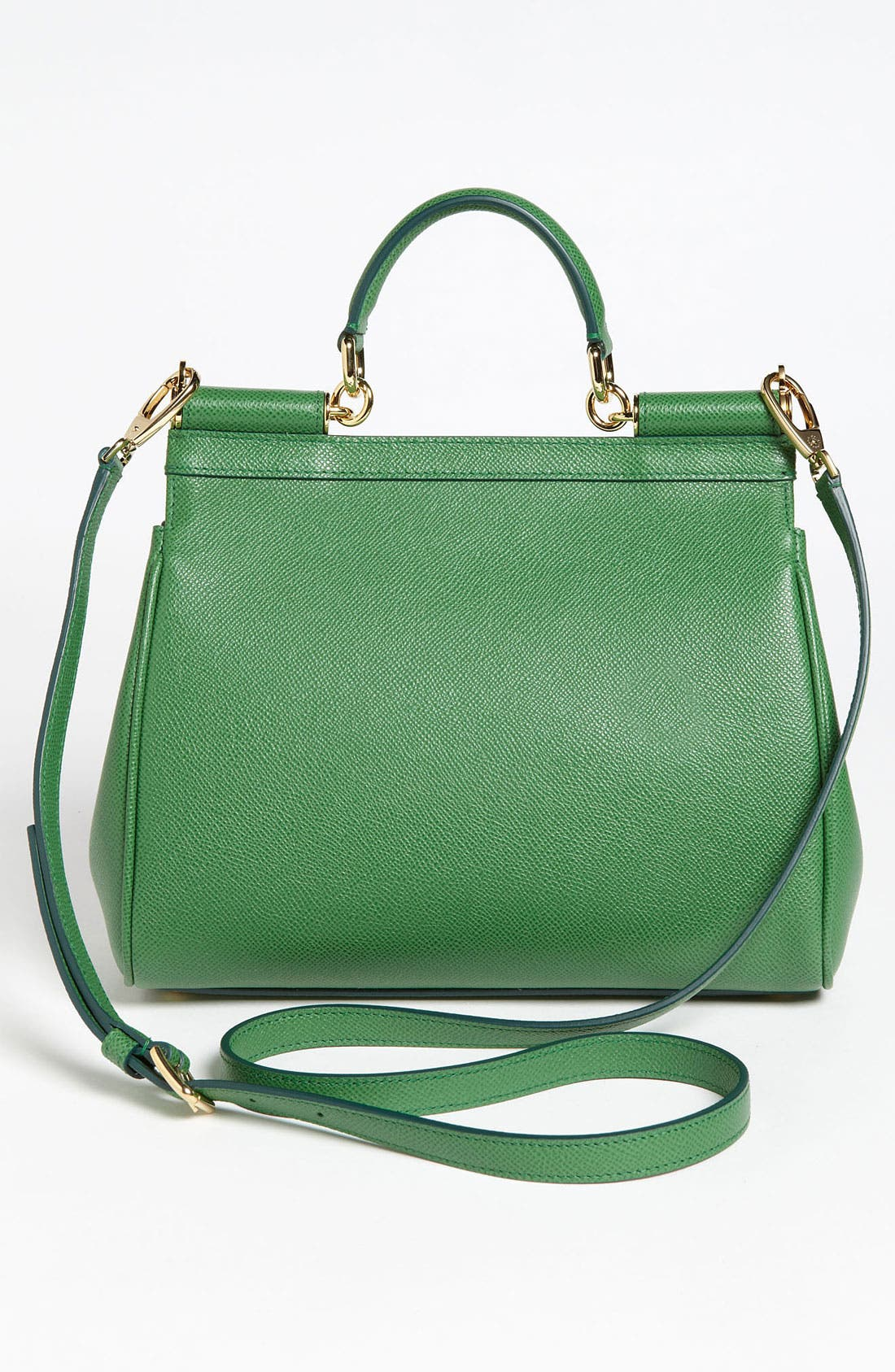 Alternate Image 4  - Dolce&Gabbana 'Miss Sicily - Small' Leather Satchel