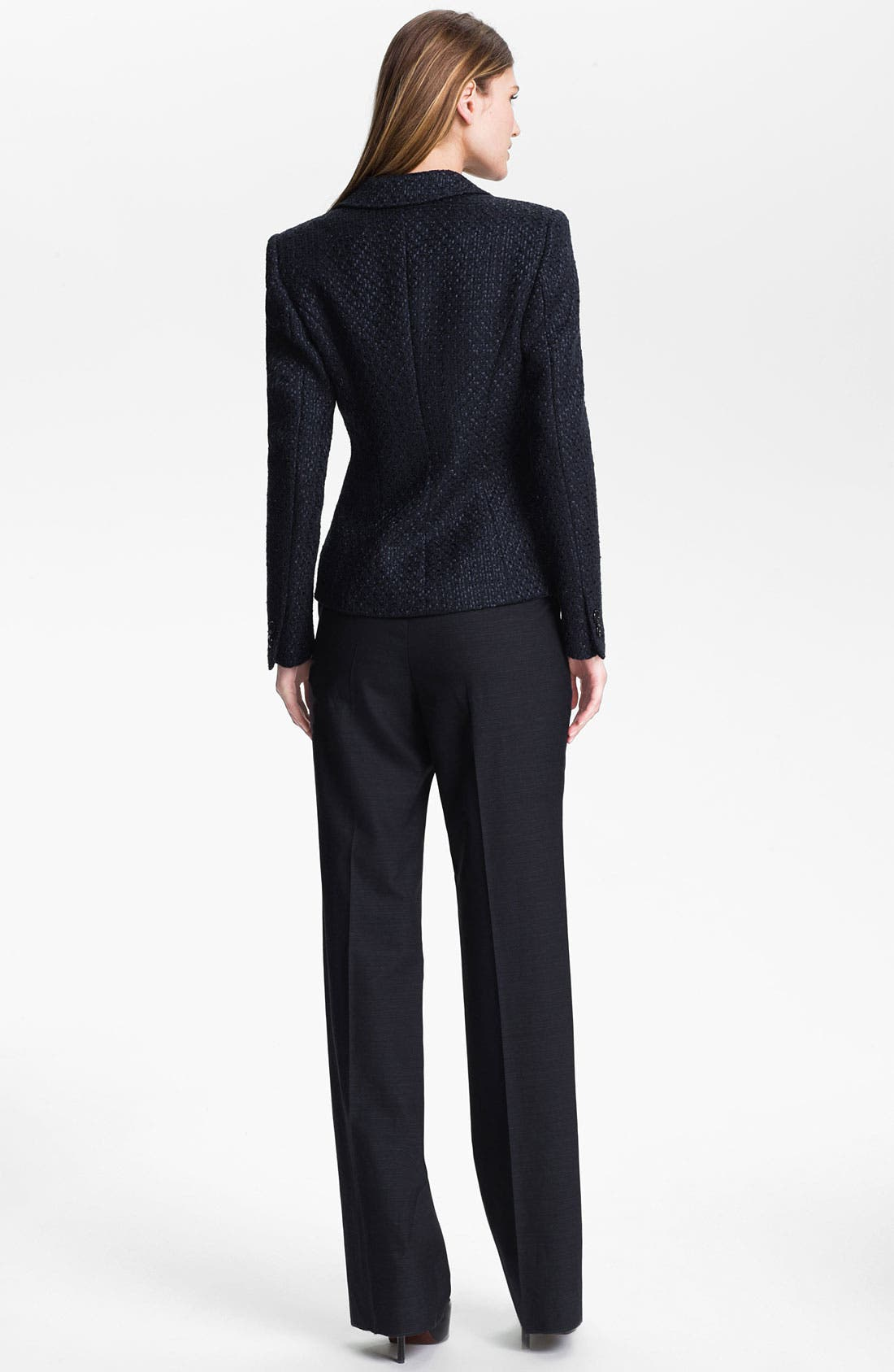 Alternate Image 5  - Santorelli 'Gabriella' Wool Blend Trousers