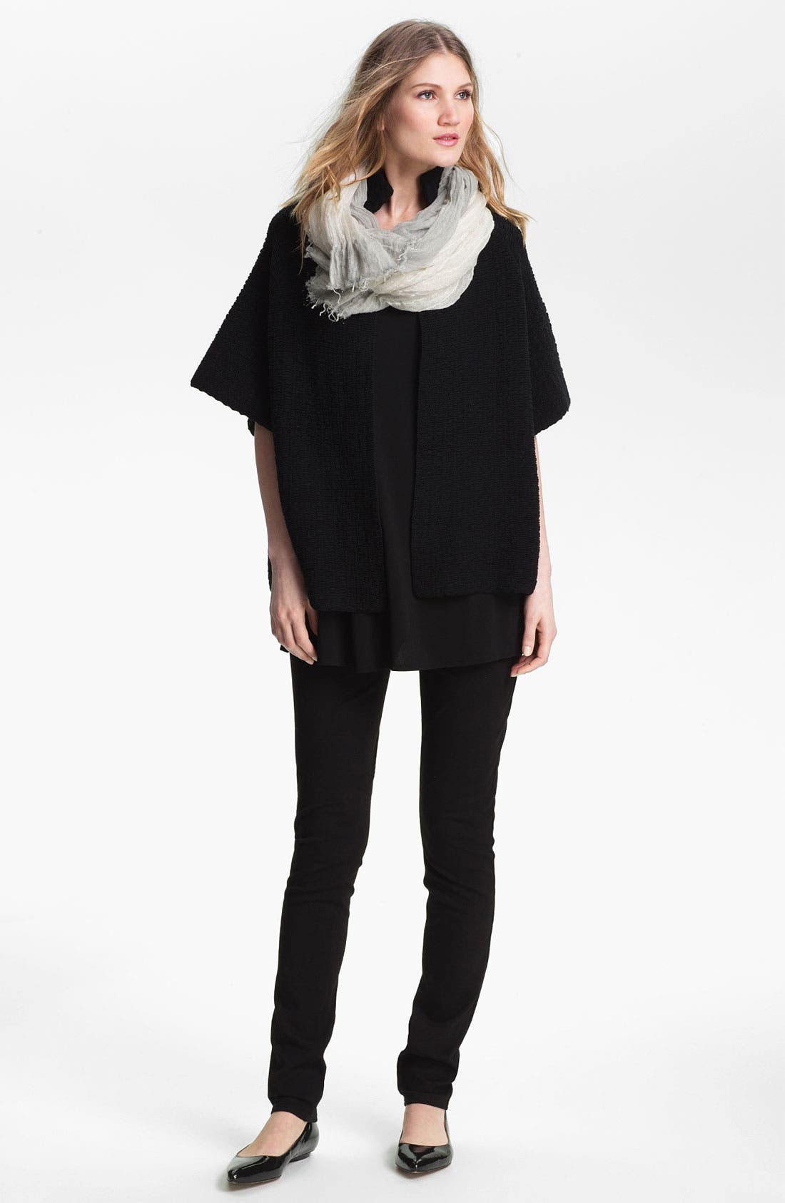 Alternate Image 3  - Eileen Fisher Stand Collar Jacket (Online Only)