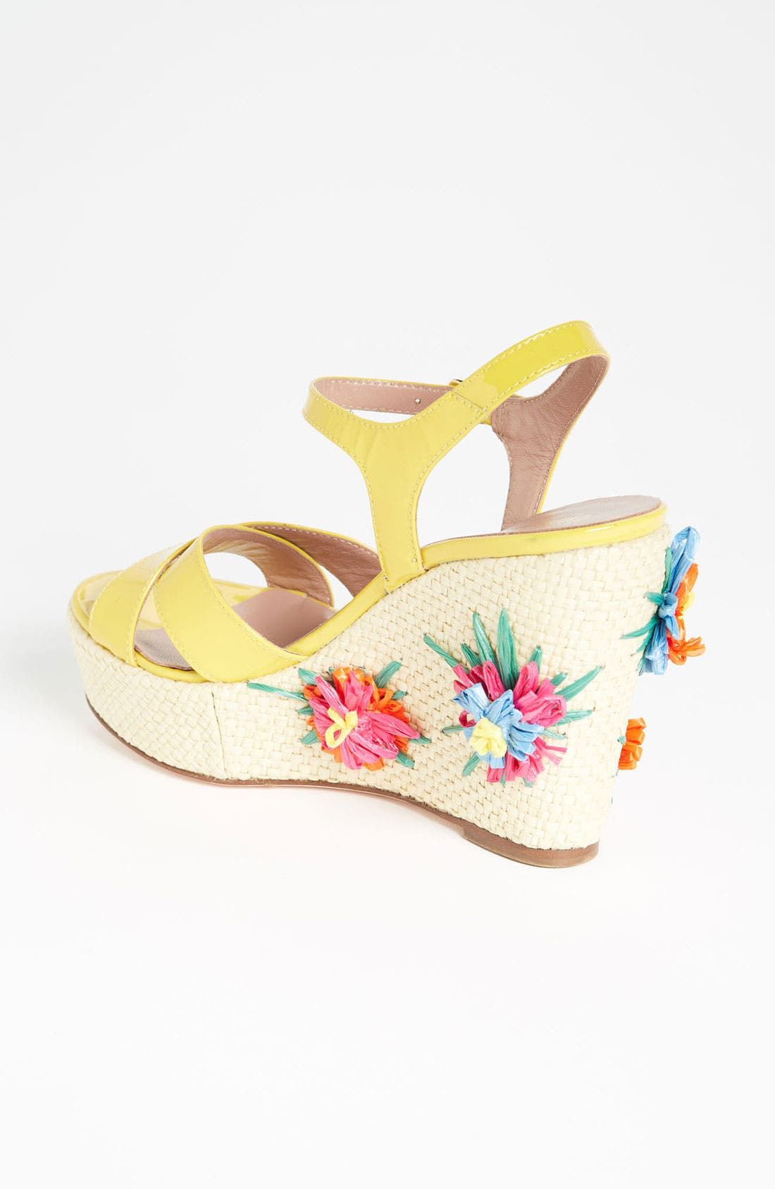 Alternate Image 2  - RED Valentino Embroidered Wedge