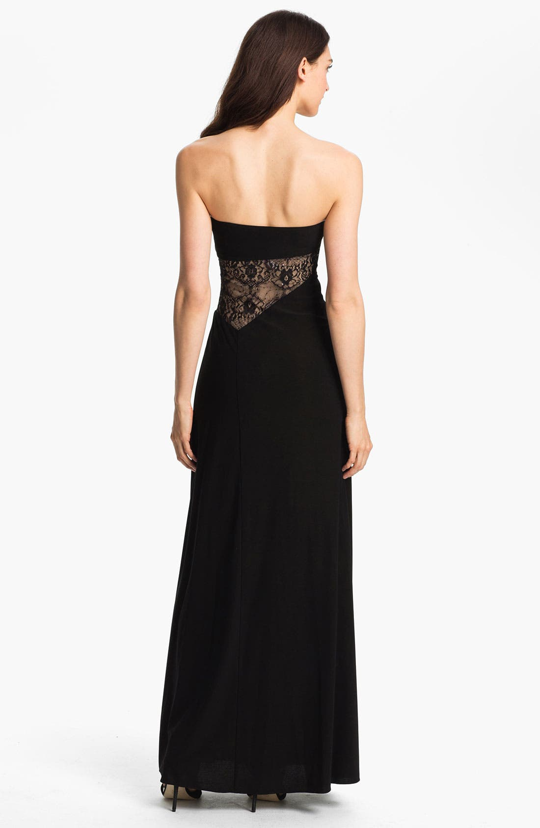 Alternate Image 2  - Hailey by Adrianna Papell Embellished Jersey Gown
