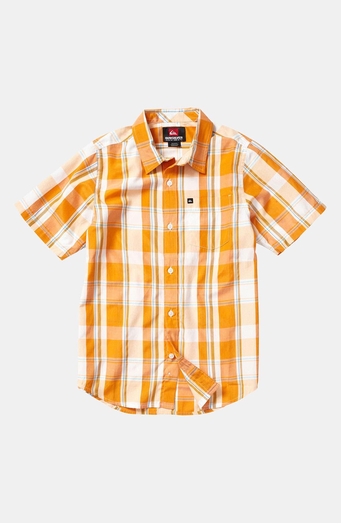 Alternate Image 1 Selected - Quiksilver 'El Pat' Woven Shirt (Big Boys)