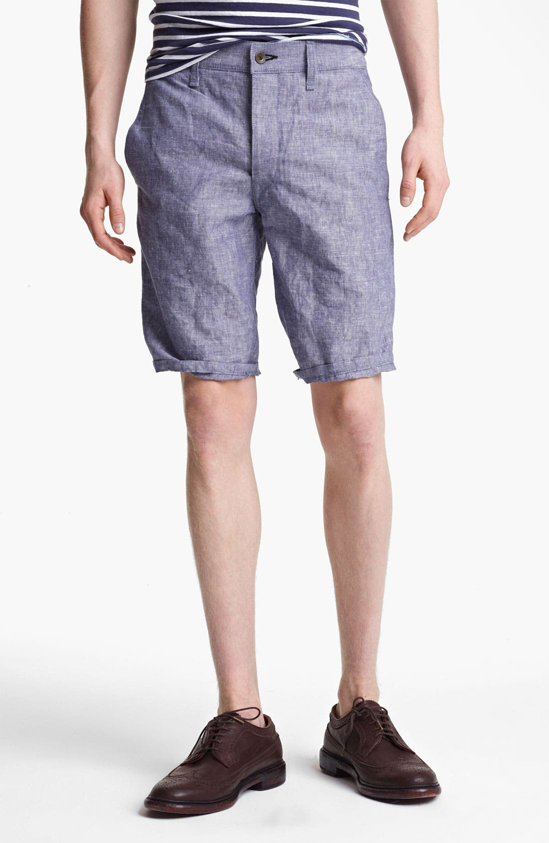 Alternate Image 1 Selected - rag & bone 'Blade' Chambray Shorts