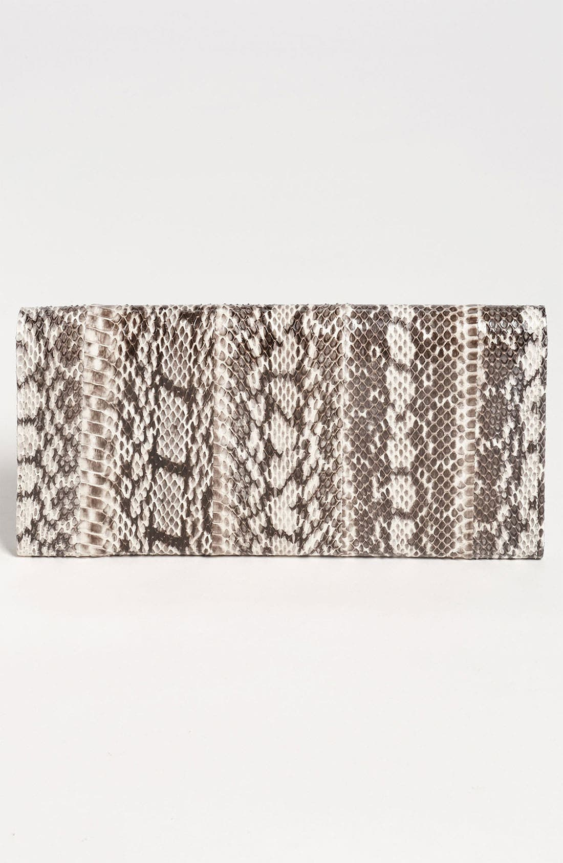 Alternate Image 4  - Jimmy Choo 'Reese' Genuine Snakeskin Clutch