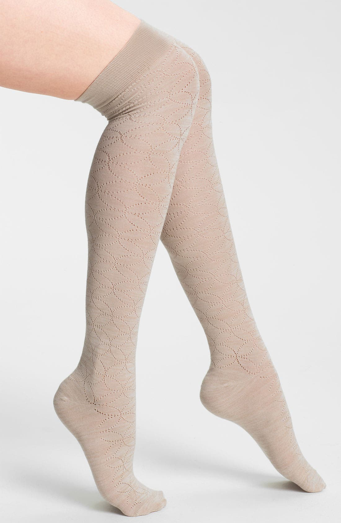 Alternate Image 1 Selected - Nordstrom 'Inside the Lines' Over the Knee Socks