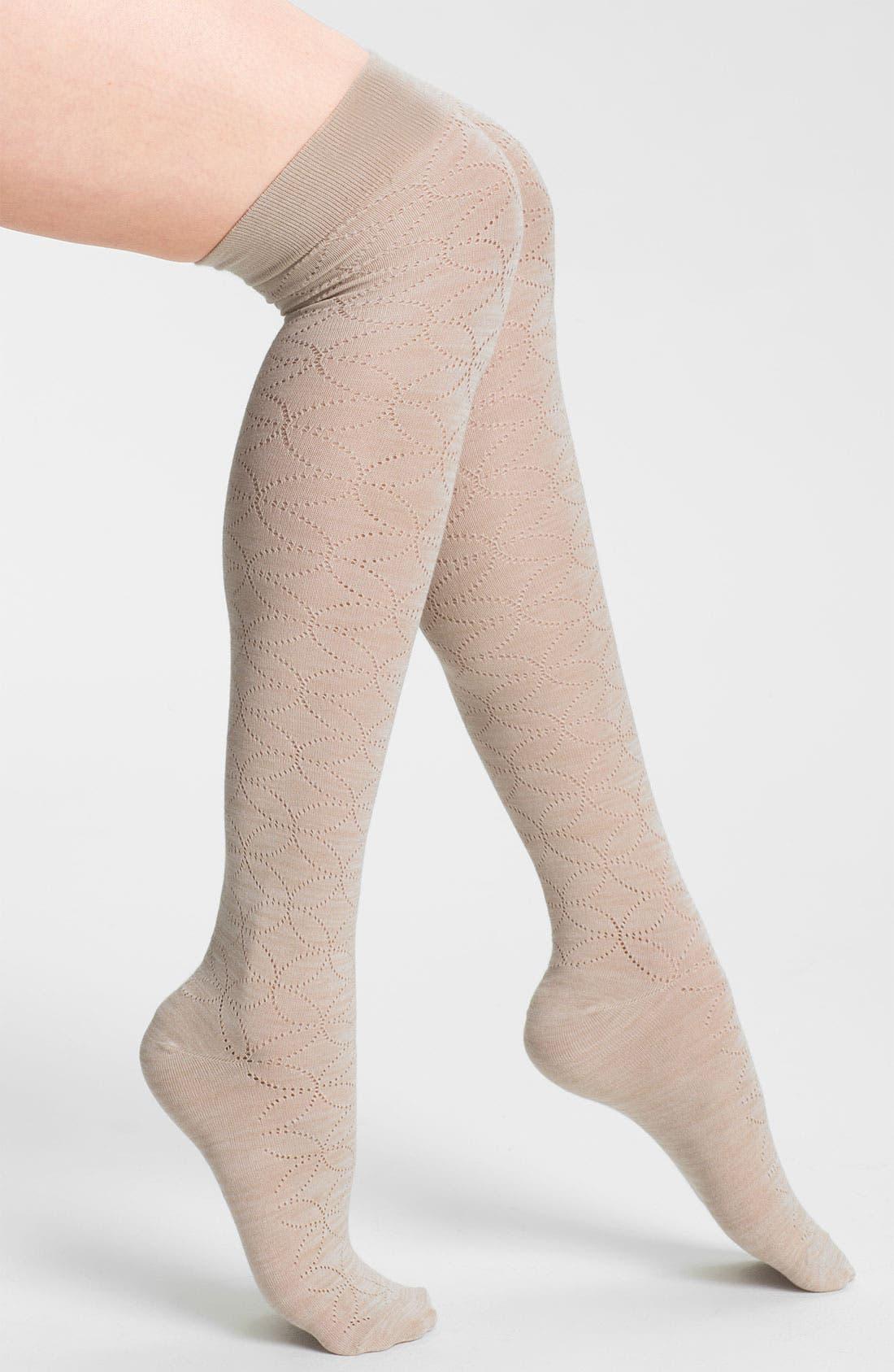 Main Image - Nordstrom 'Inside the Lines' Over the Knee Socks