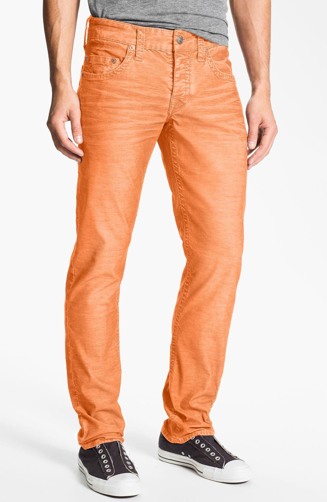 Alternate Image 2  - True Religion Brand Jeans 'Geno' Slim Corduroy Pants (Online Only)